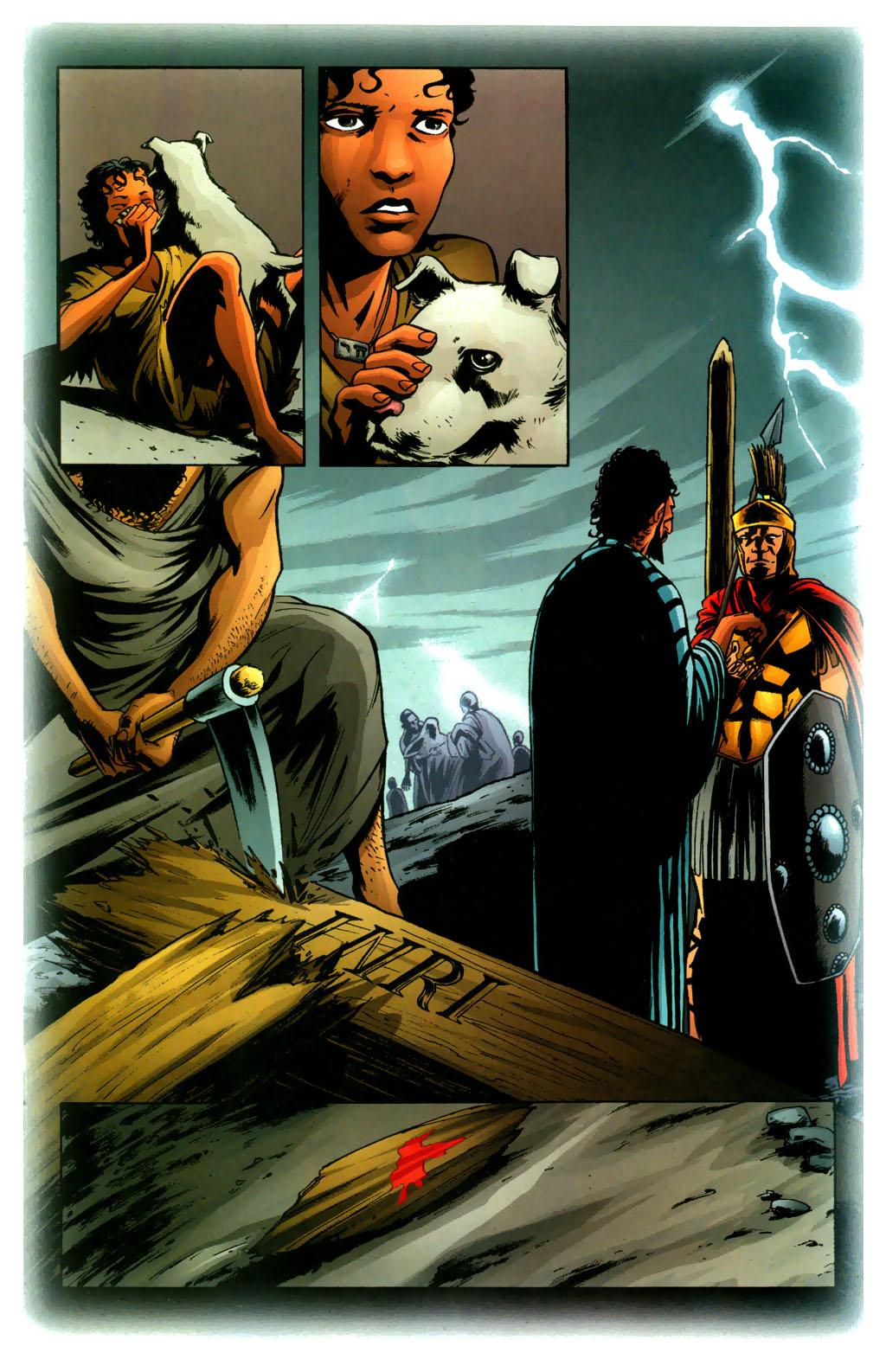 Read online Fallen Angel (2003) comic -  Issue #9 - 12