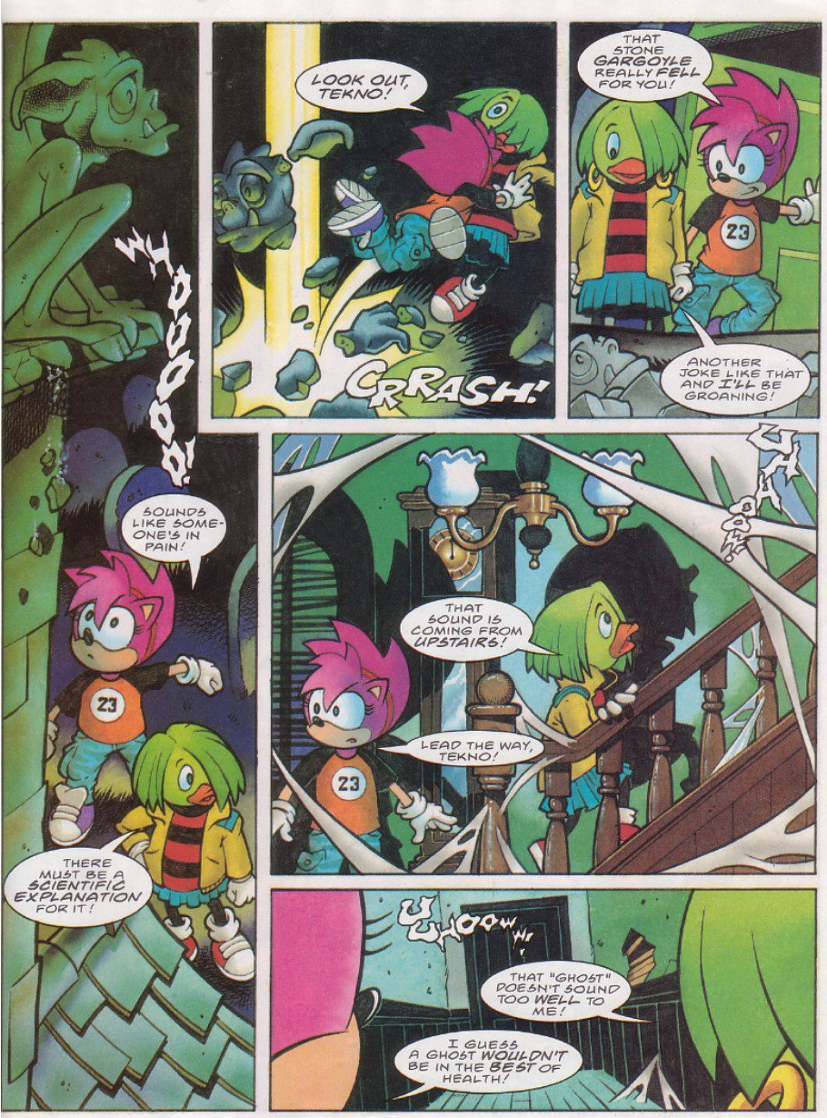 Read online Sonic the Comic comic -  Issue #116 - 24