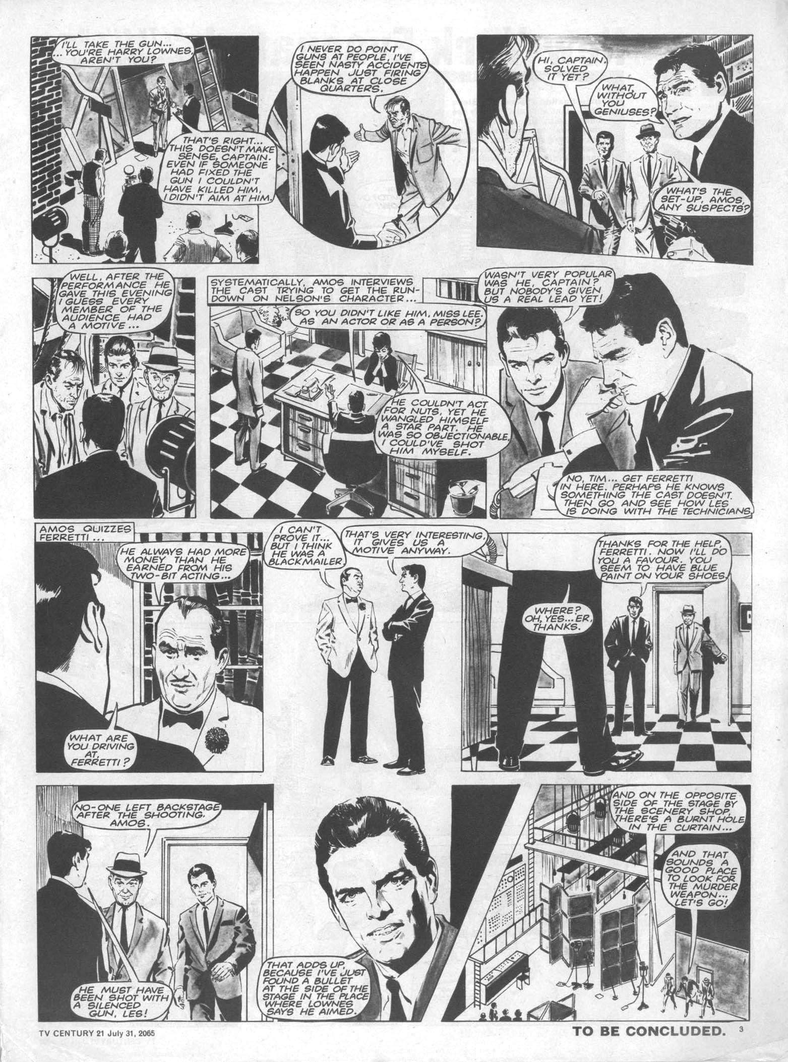 Read online TV Century 21 (TV 21) comic -  Issue #28 - 3