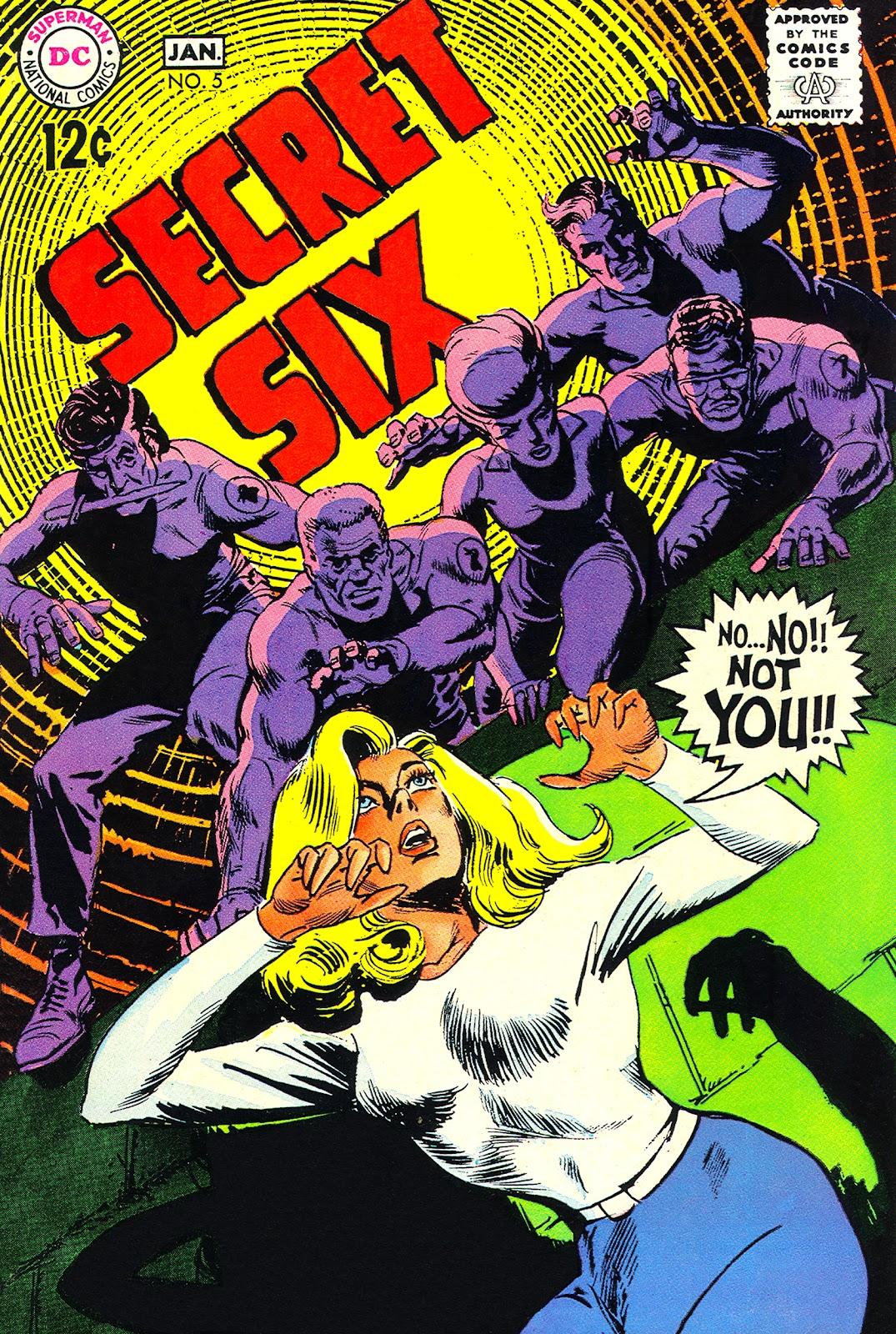 Secret Six (1968) 5 Page 1