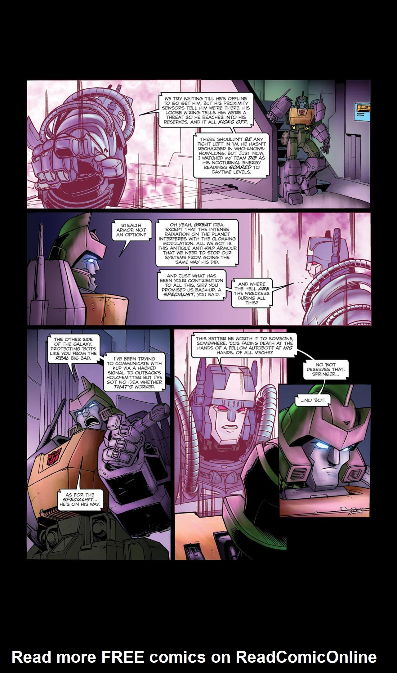 Read online Transformers Spotlight: Kup comic -  Issue # Full - 20
