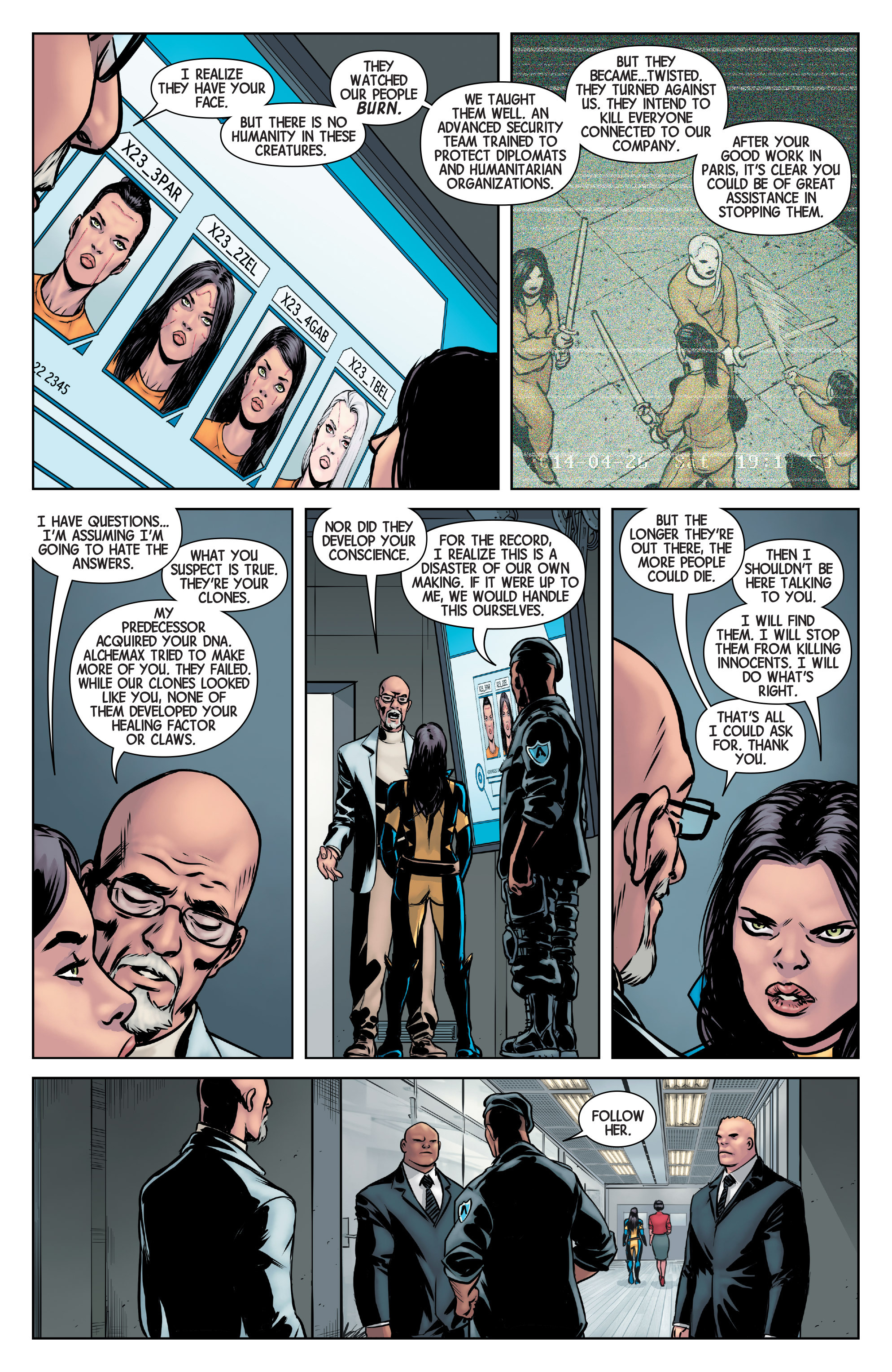 Read online All-New Wolverine (2016) comic -  Issue #2 - 6