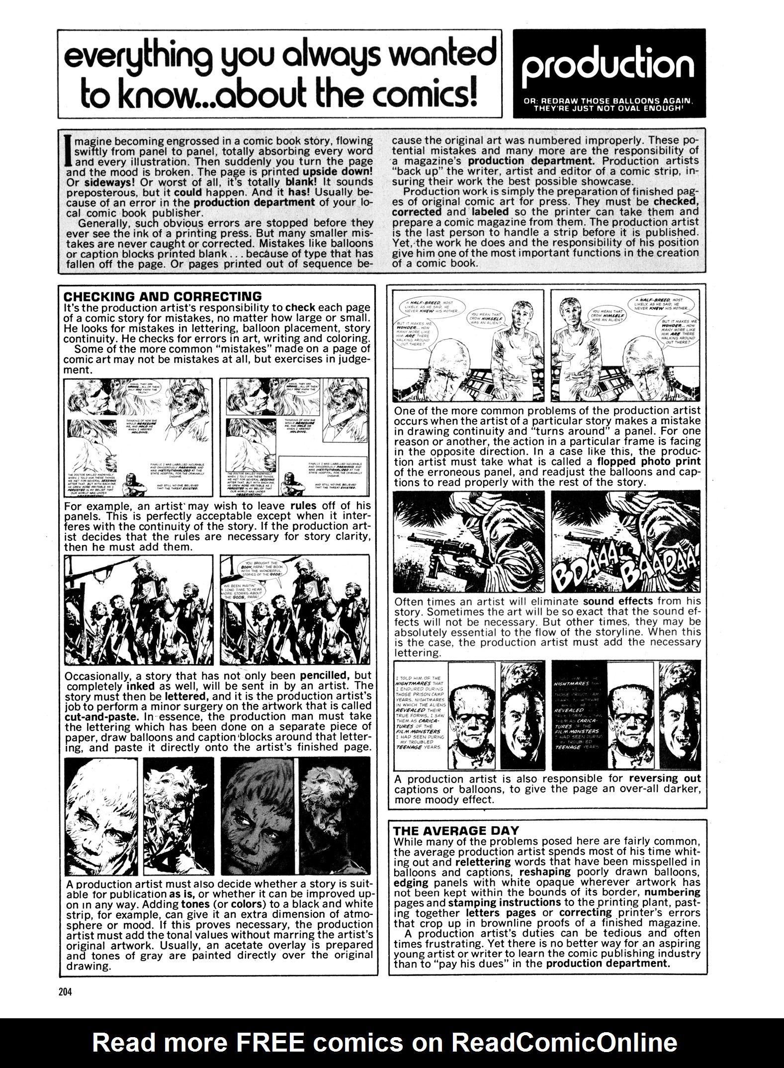 Read online Eerie Archives comic -  Issue # TPB 14 - 205