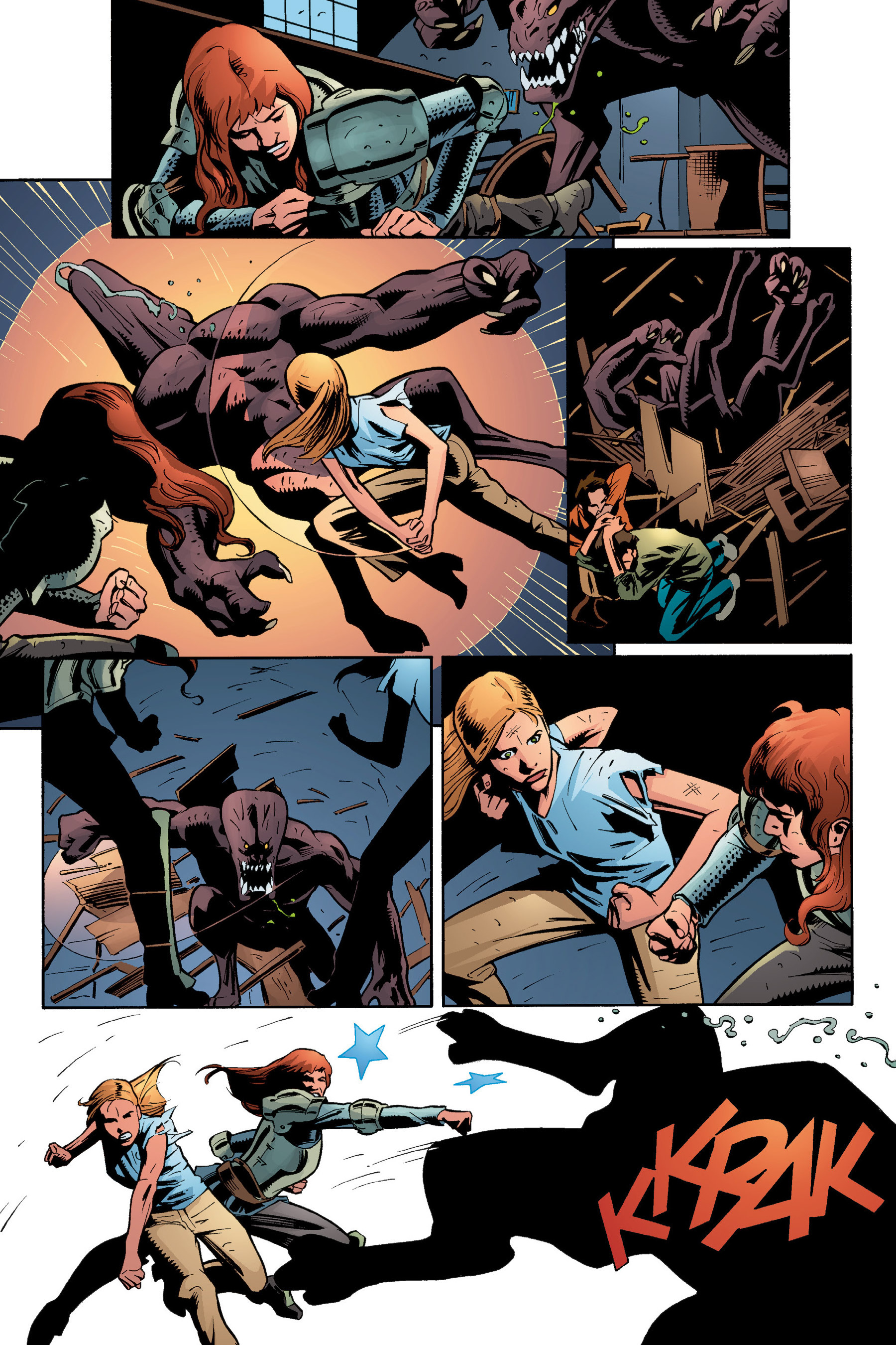 Read online Buffy the Vampire Slayer: Omnibus comic -  Issue # TPB 5 - 262