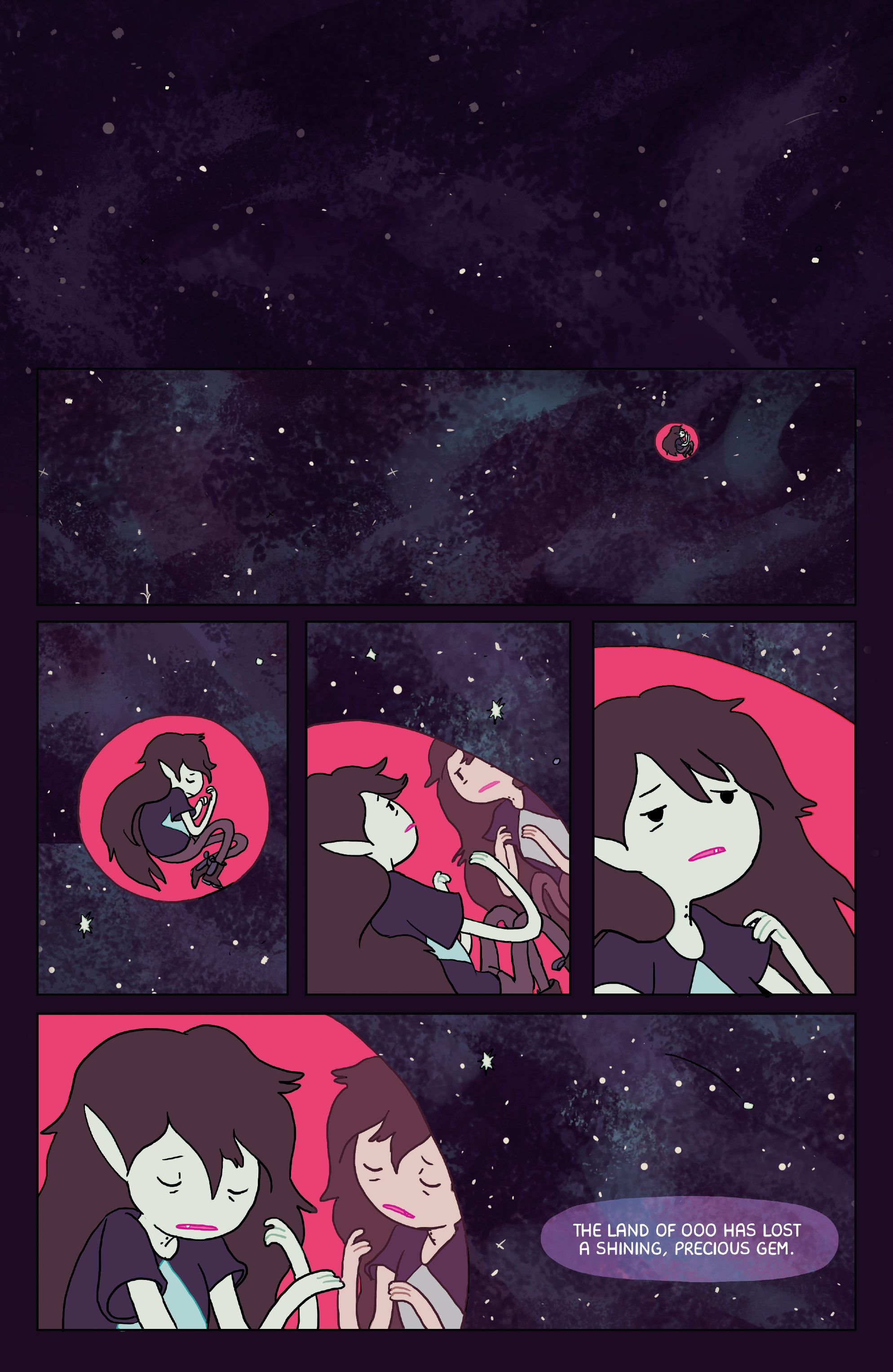 Read online Adventure Time: Marceline Gone Adrift comic -  Issue #2 - 3