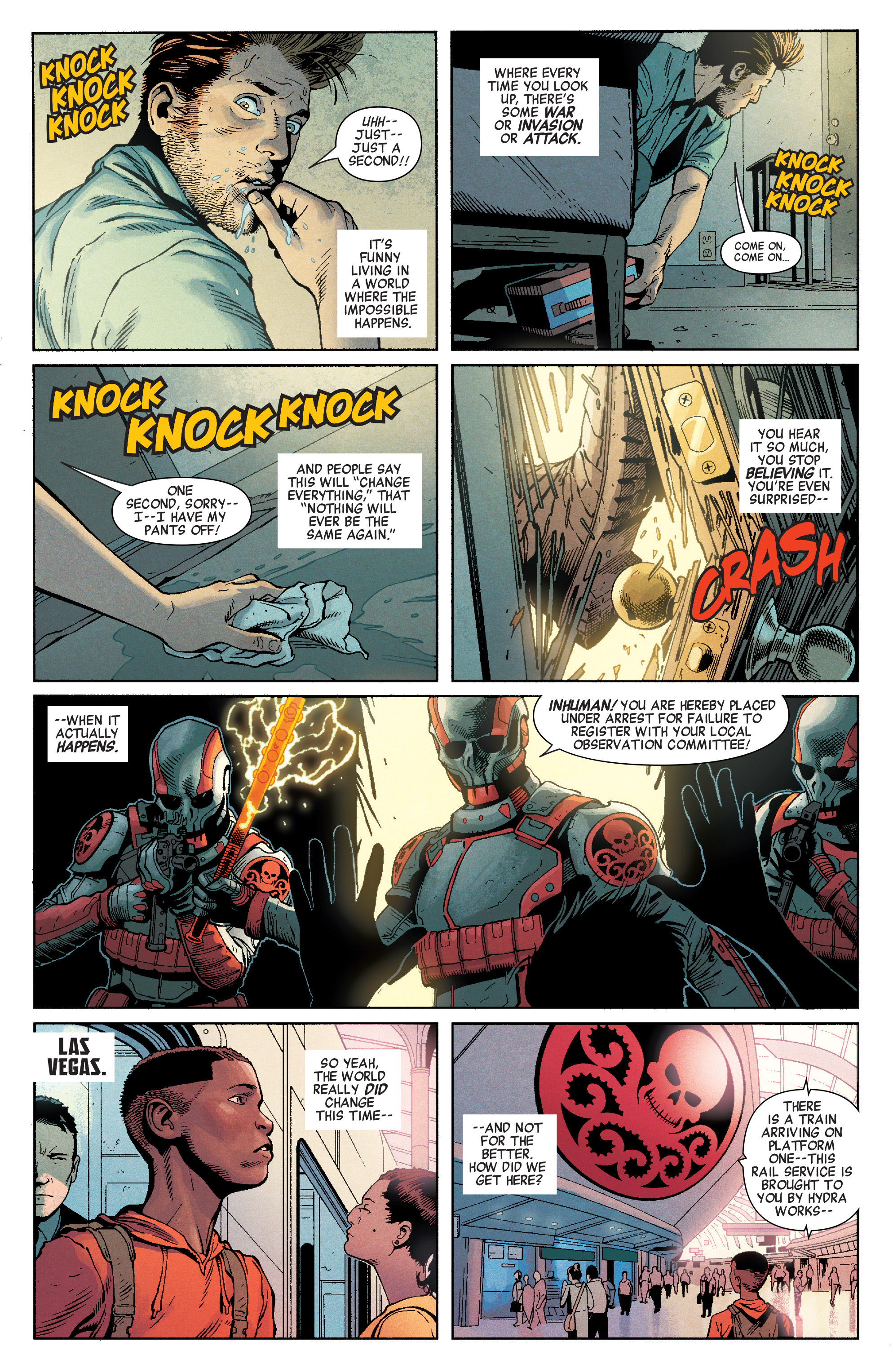 Read online Secret Empire comic -  Issue #1 - 6