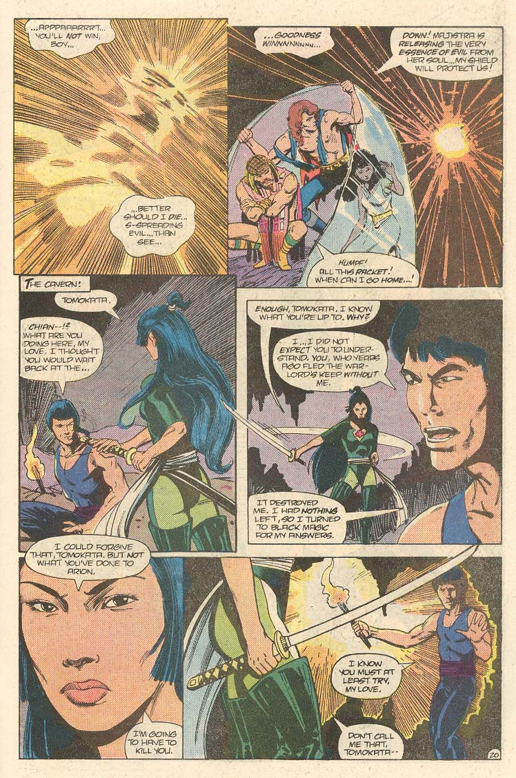 Read online Arion, Lord of Atlantis comic -  Issue #33 - 21