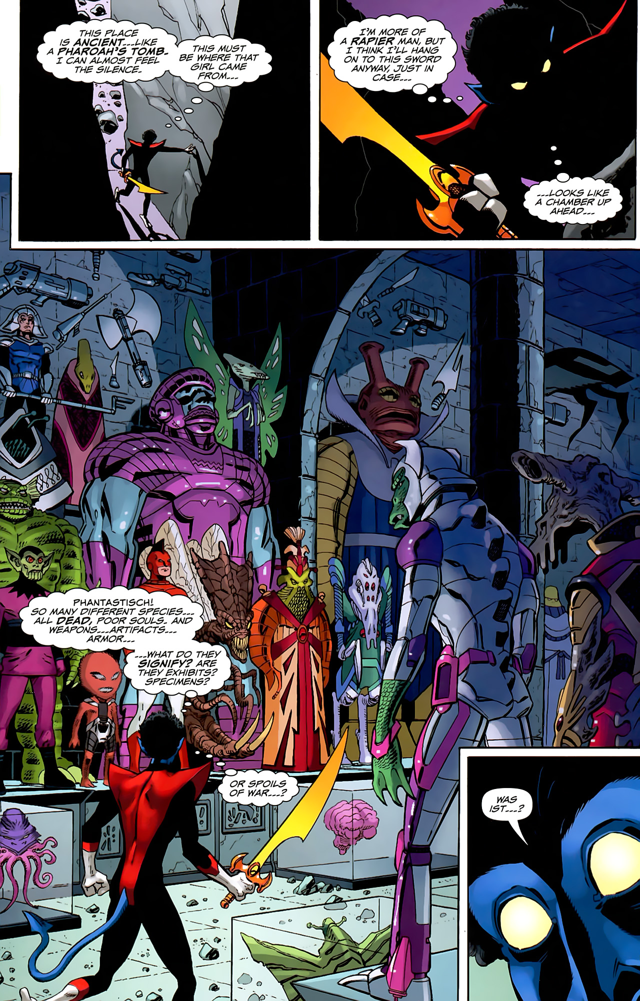 Read online Uncanny X-Men: First Class comic -  Issue #6 - 8