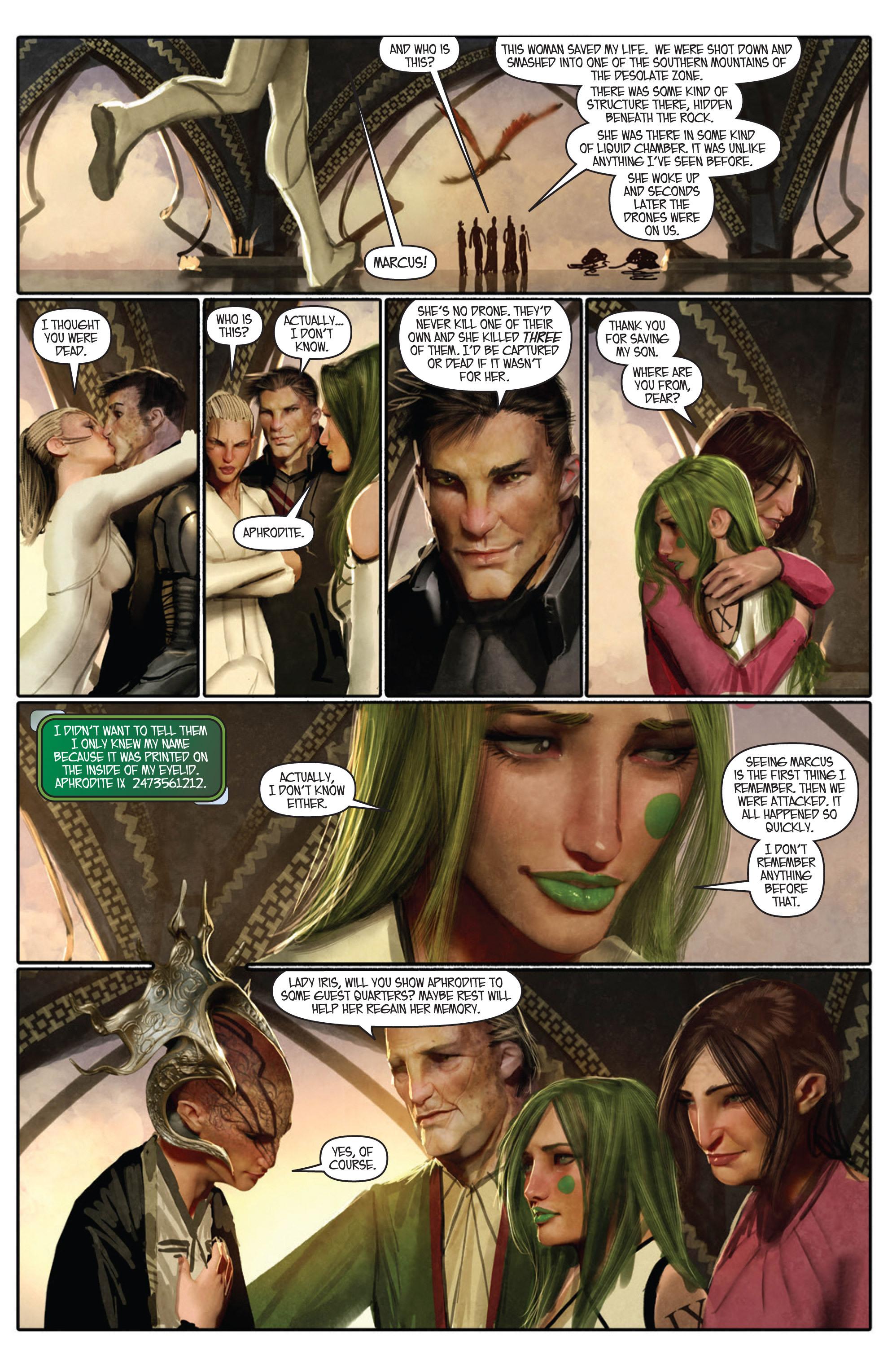 Read online Aphrodite IX (2013) comic -  Issue #Aphrodite IX (2013) _TPB 1 - 23