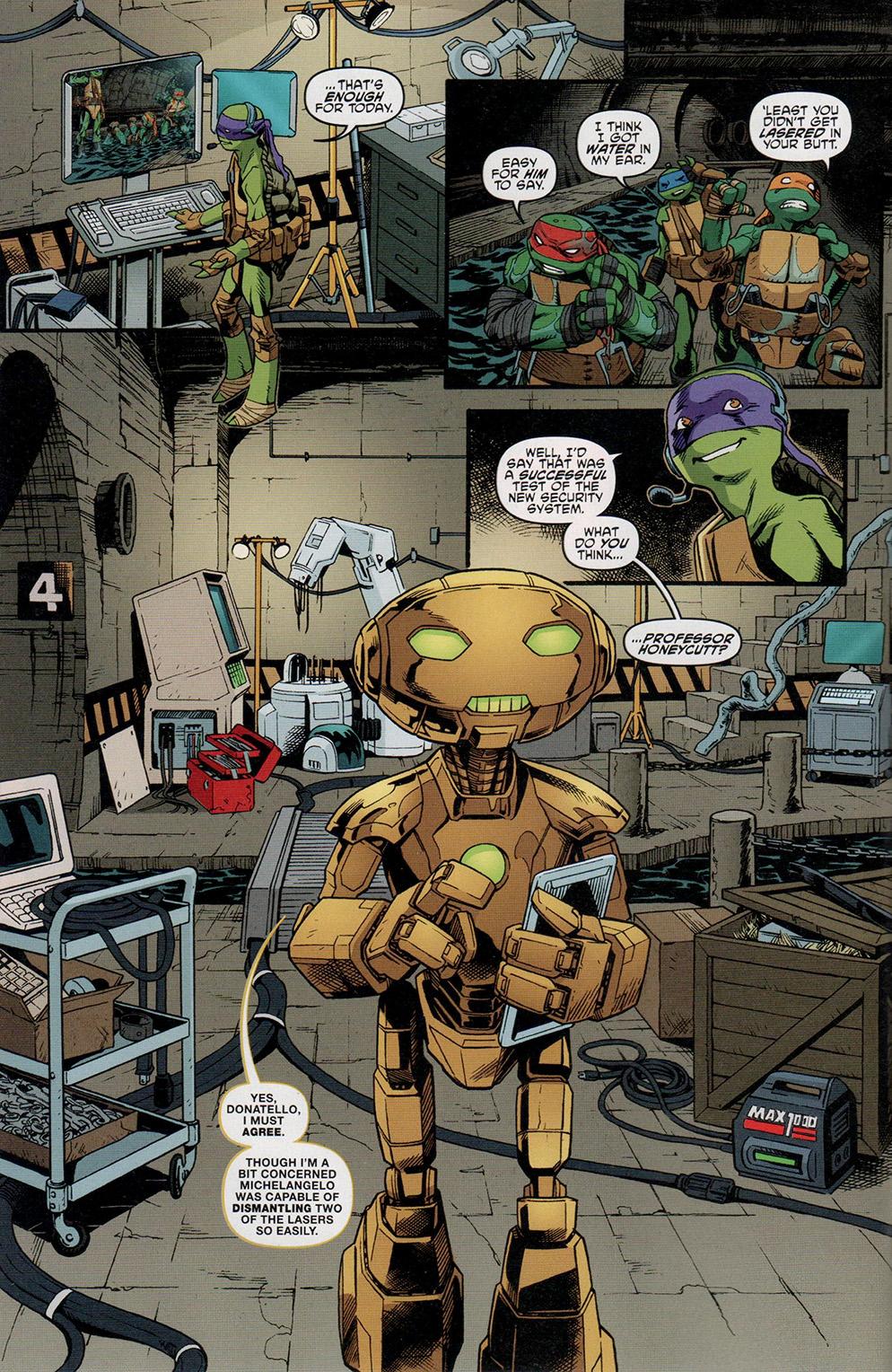 Read online Free Comic Book Day 2017 comic -  Issue # Teenage Mutant Ninja Turtles - 6
