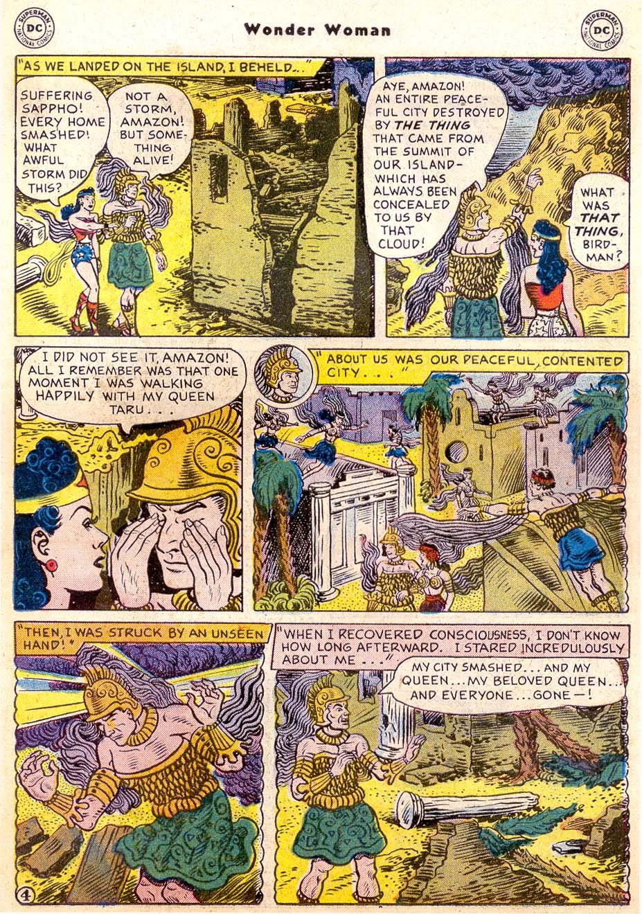 Read online Wonder Woman (1942) comic -  Issue #91 - 19