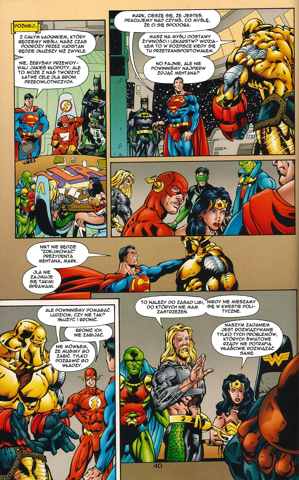 Read online JLA Superpower comic -  Issue # Full - 40