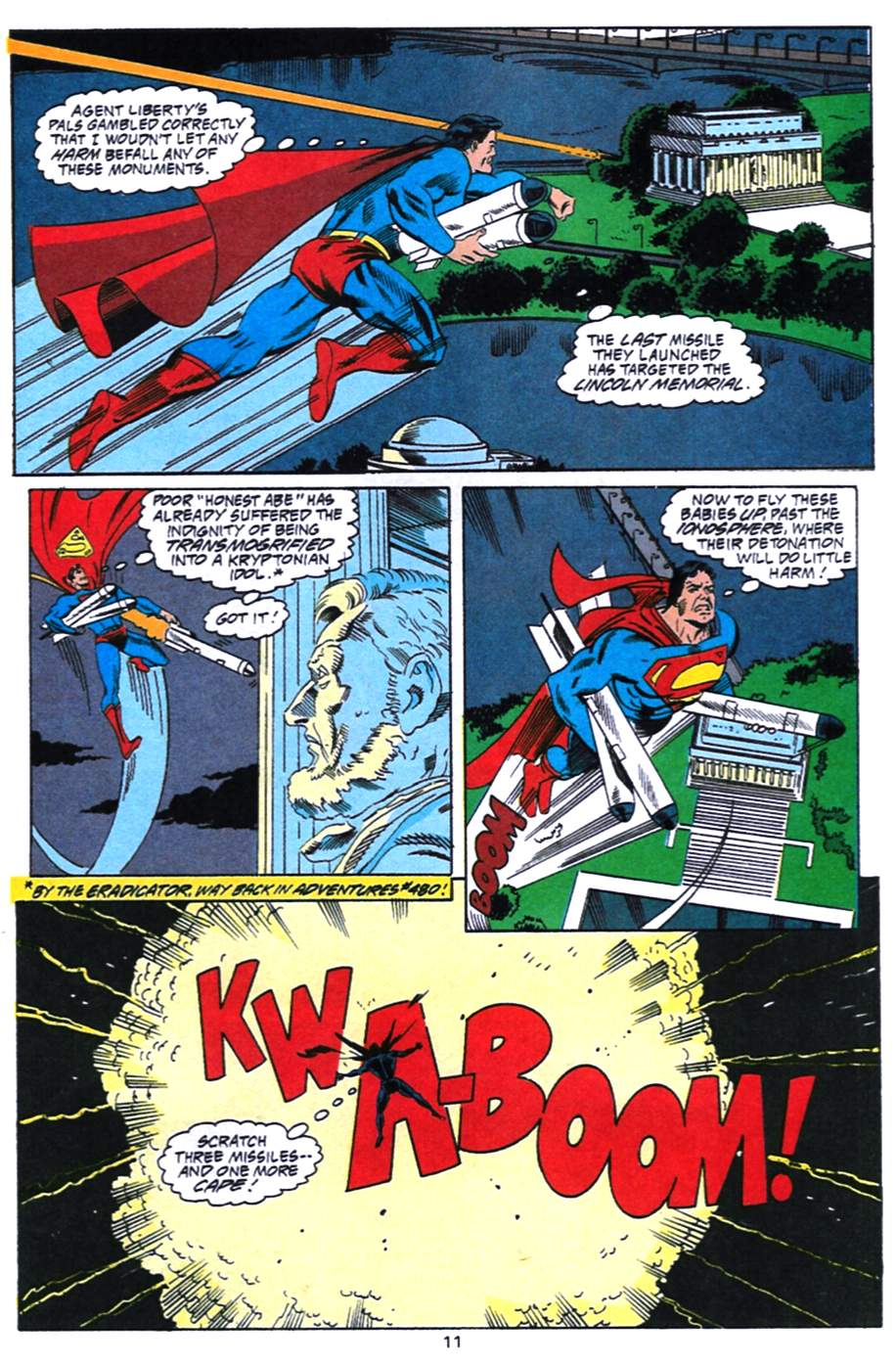 Read online Adventures of Superman (1987) comic -  Issue #492 - 12