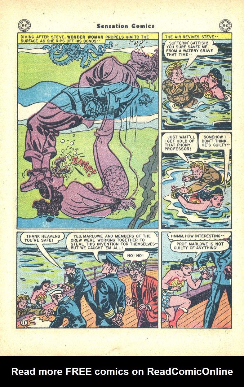 Read online Sensation (Mystery) Comics comic -  Issue #68 - 13
