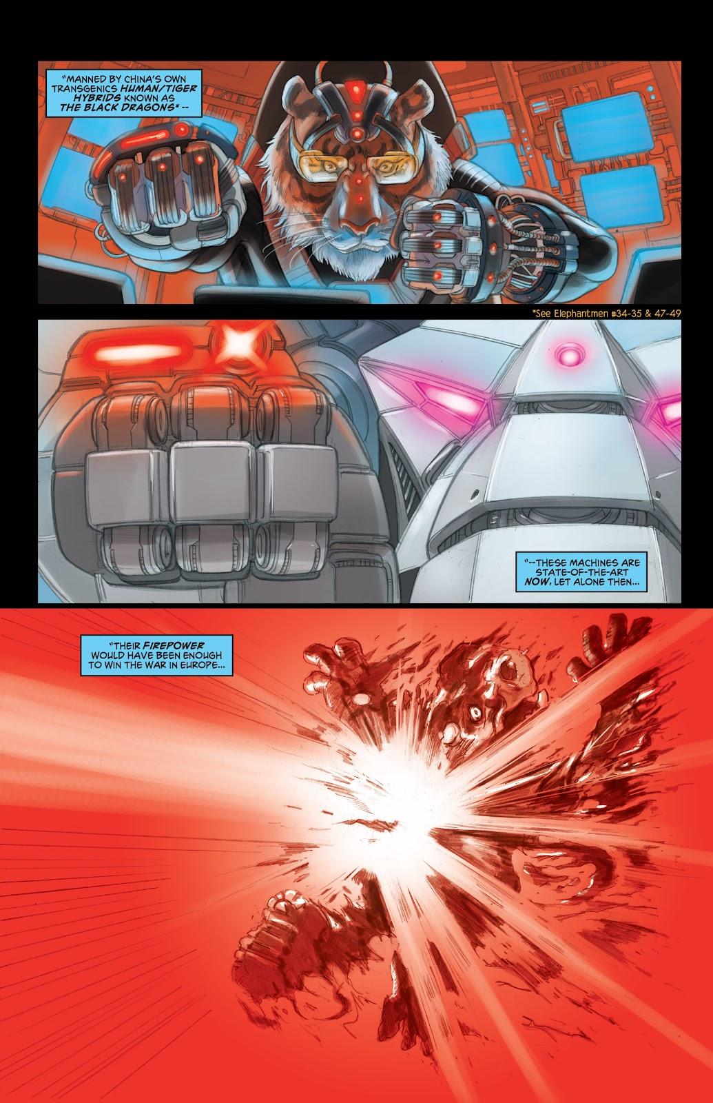 Read online Elephantmen 2261 Season Two: The Pentalion Job comic -  Issue # TPB - 17
