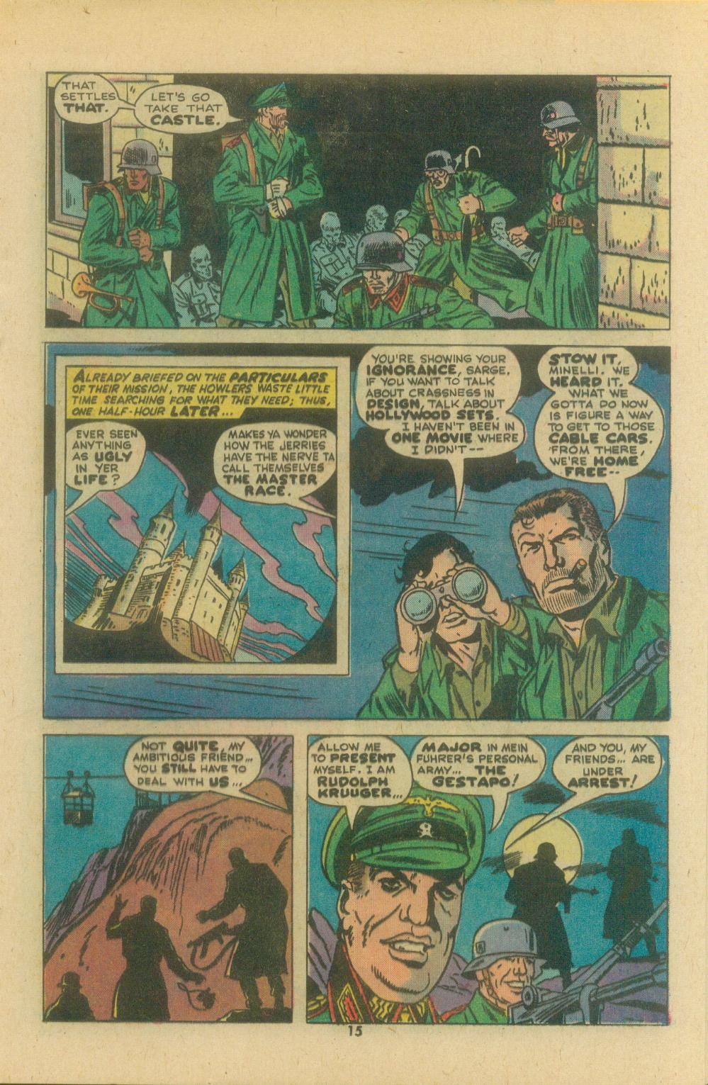Read online Sgt. Fury comic -  Issue #119 - 17