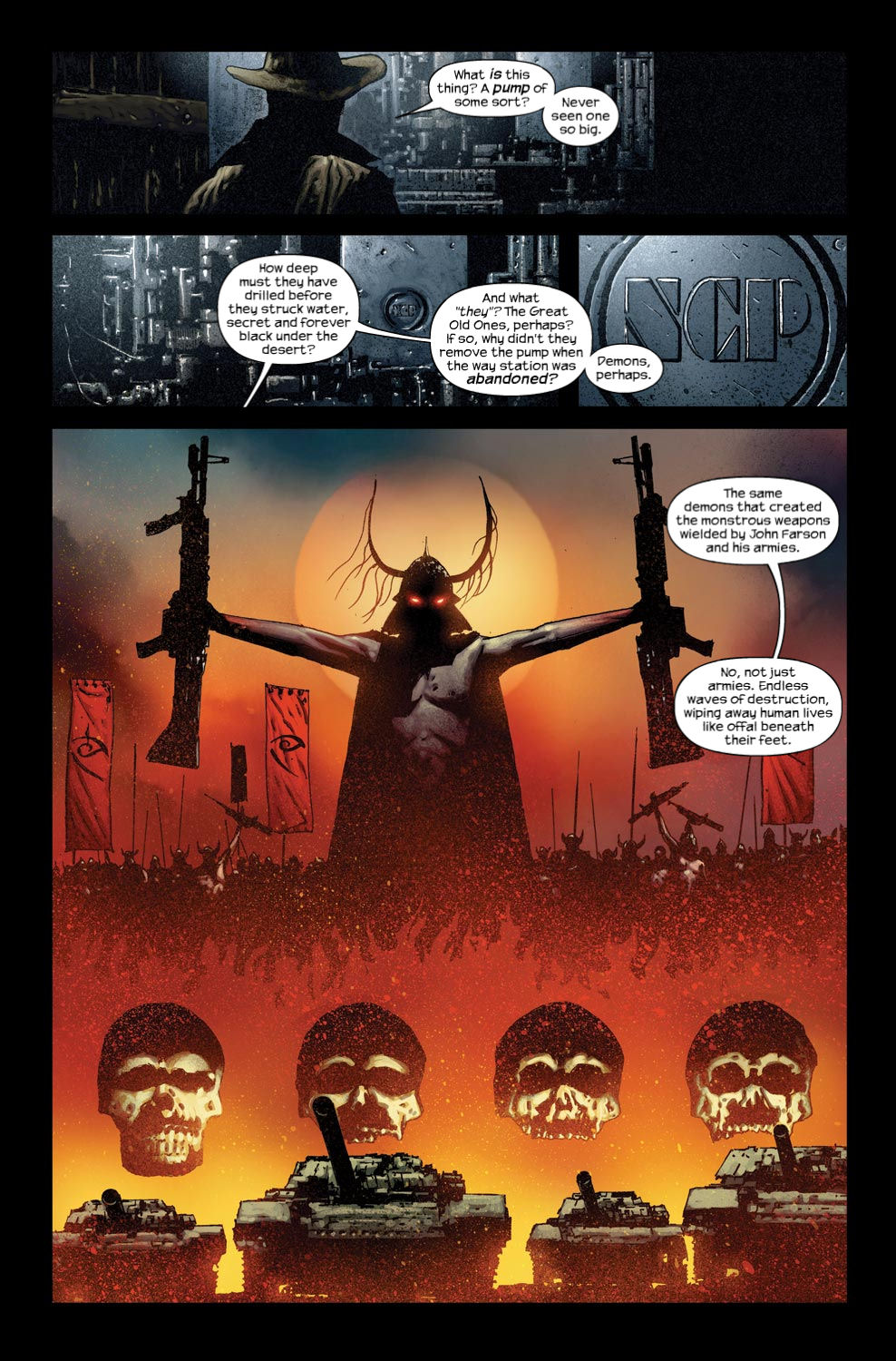 Read online Dark Tower: The Gunslinger - The Way Station comic -  Issue #3 - 7