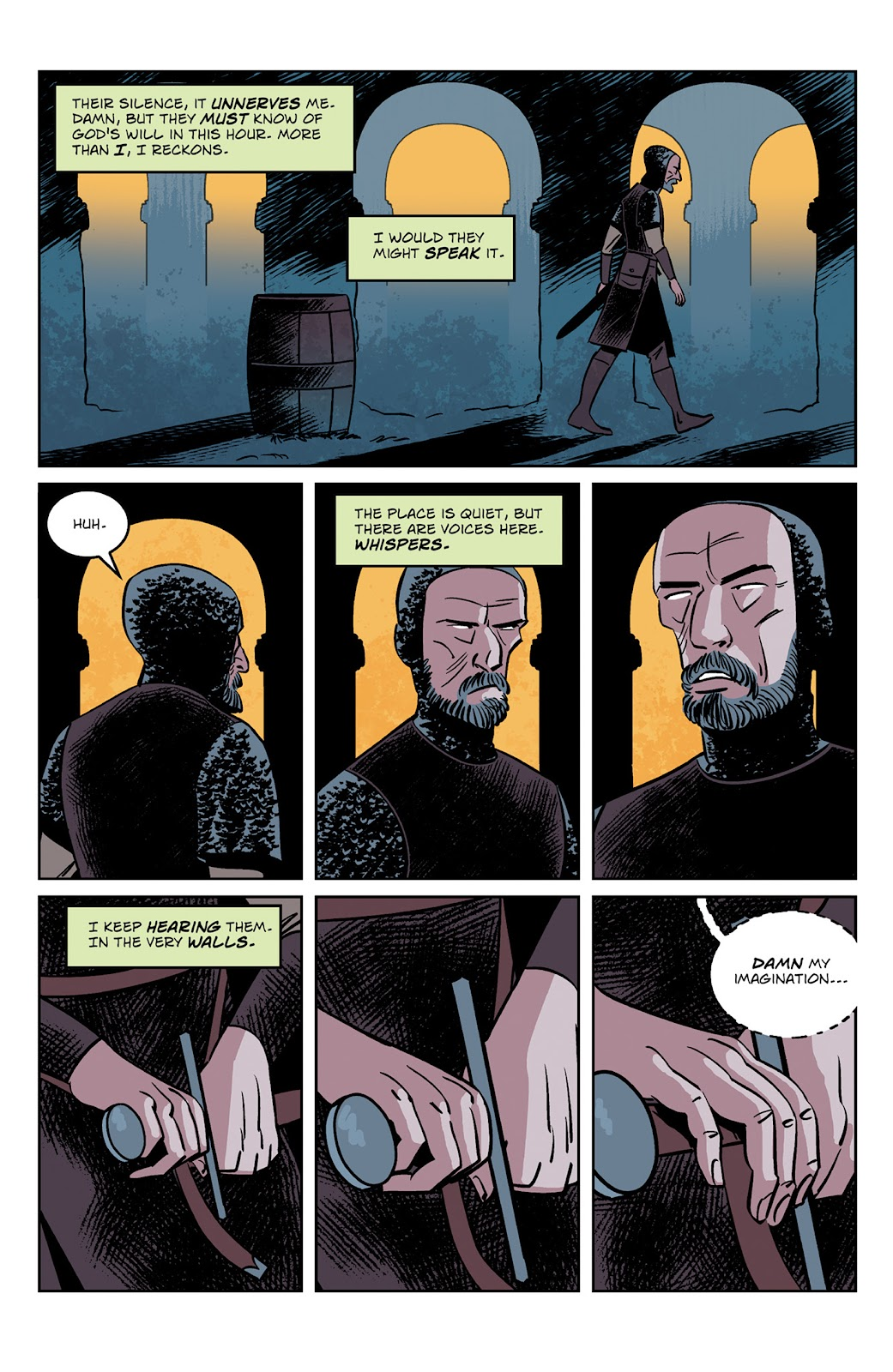 Read online Dark Ages comic -  Issue #2 - 5