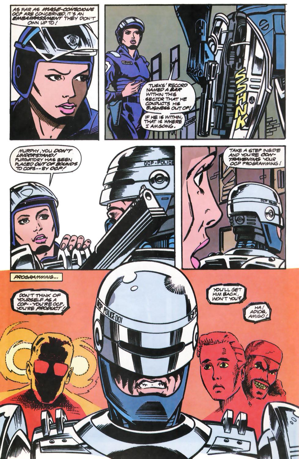 Read online Robocop (1990) comic -  Issue #12 - 13