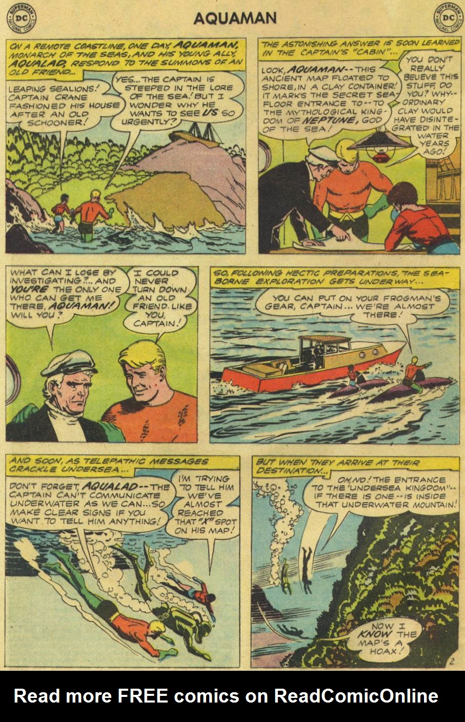 Read online Aquaman (1962) comic -  Issue #9 - 4