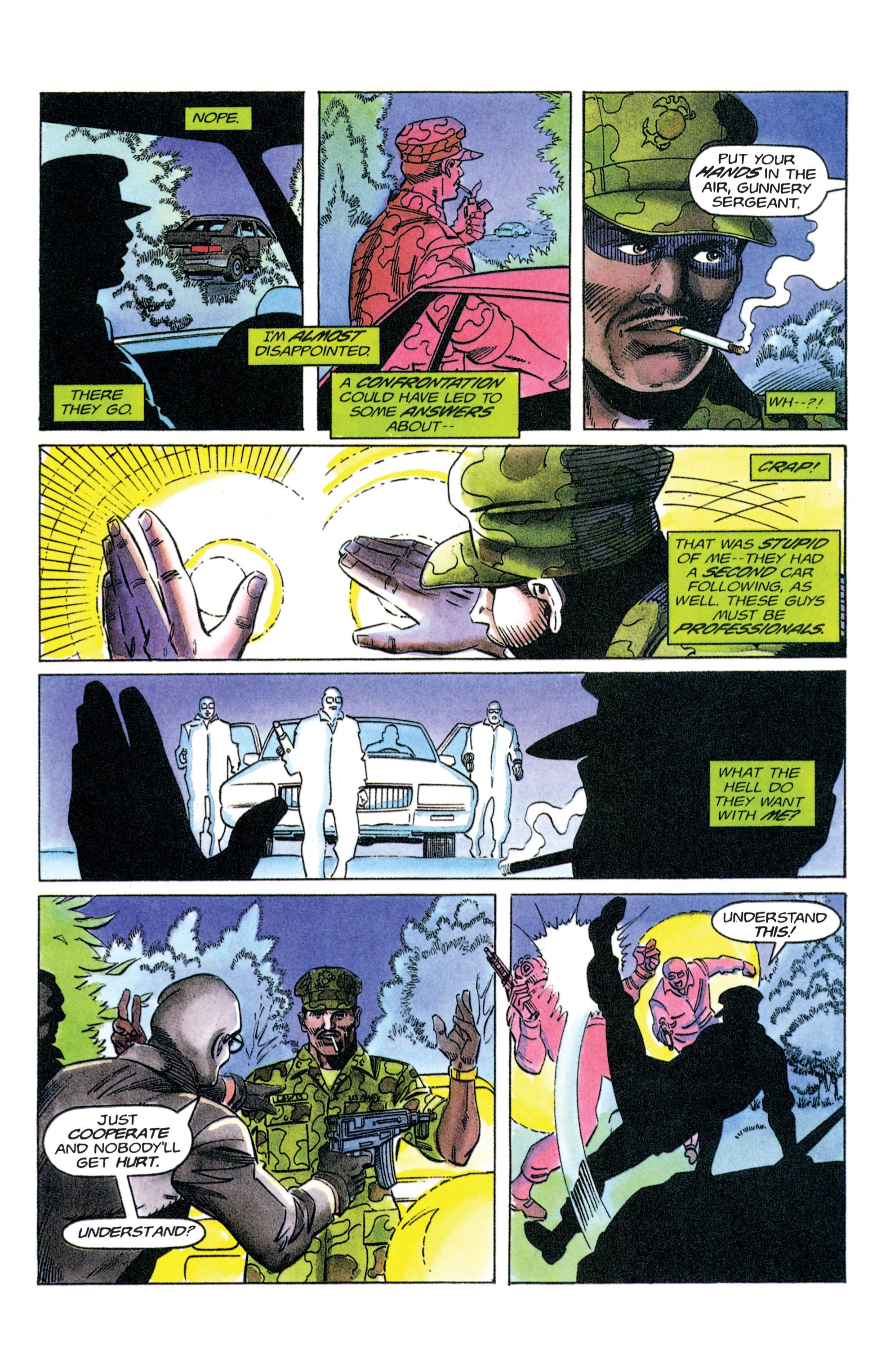 Read online Armorines comic -  Issue #12 - 5