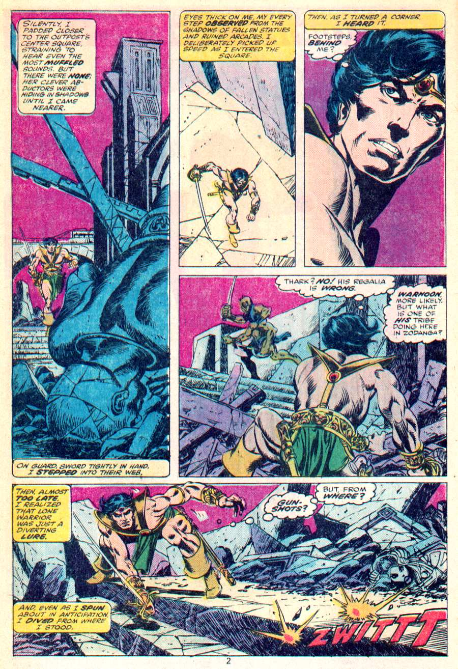 John Carter Warlord of Mars issue 1 - Page 3