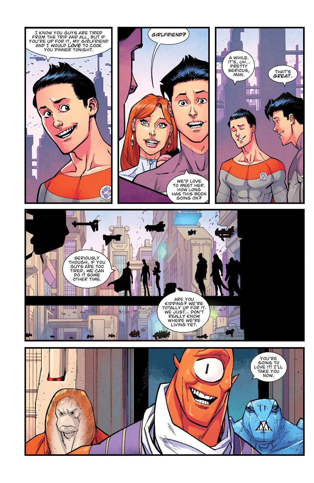 Invincible (2003) issue TPB 21 - Modern Family - Page 71