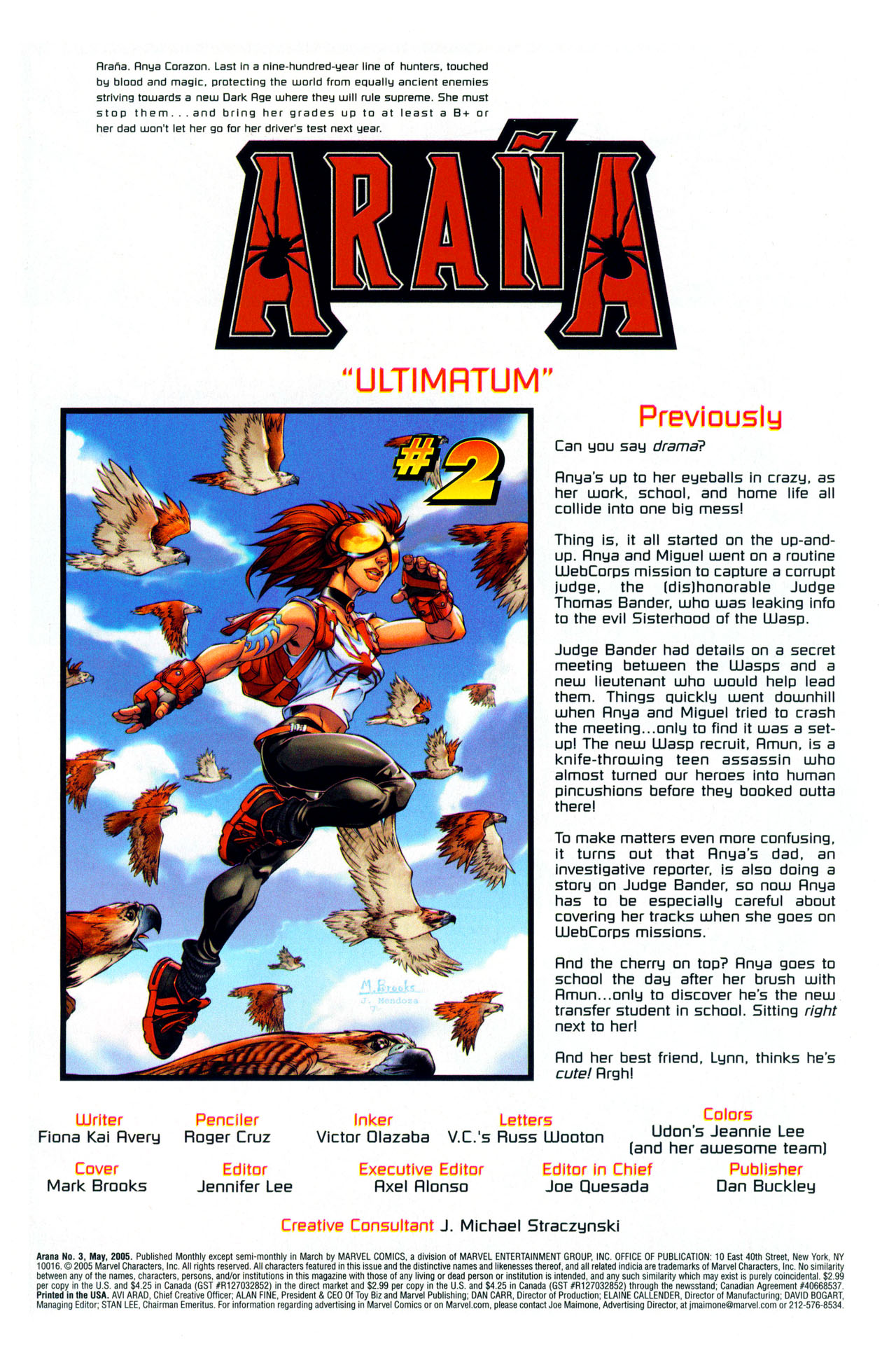 Read online Araña: Heart of the Spider comic -  Issue #3 - 2