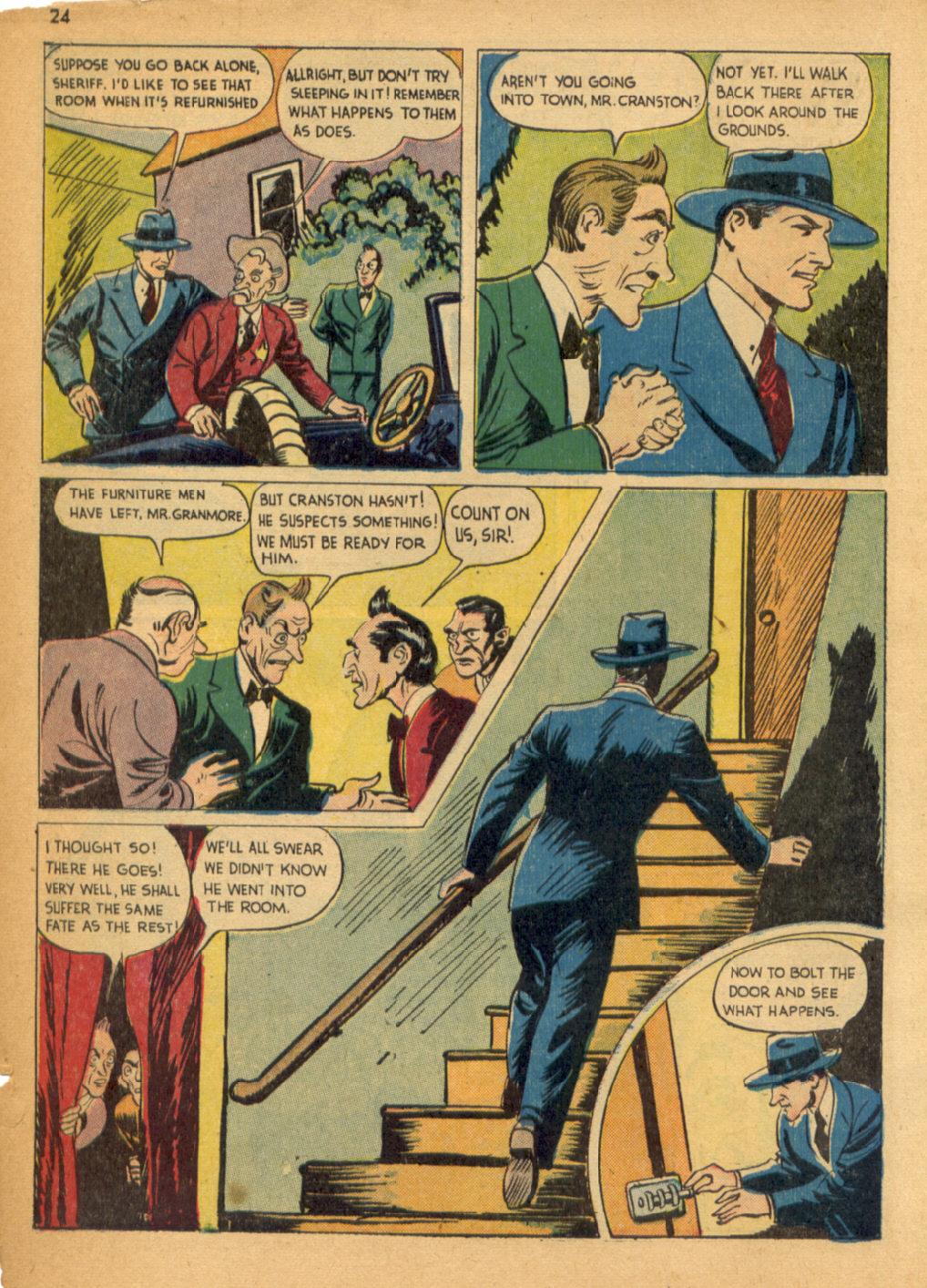 Read online Shadow Comics comic -  Issue #32 - 25