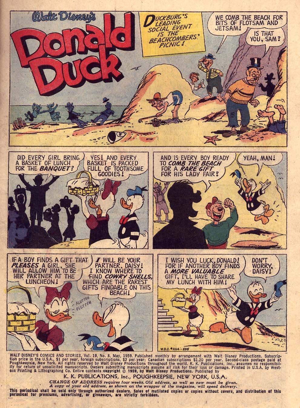 Walt Disney's Comics and Stories issue 224 - Page 3