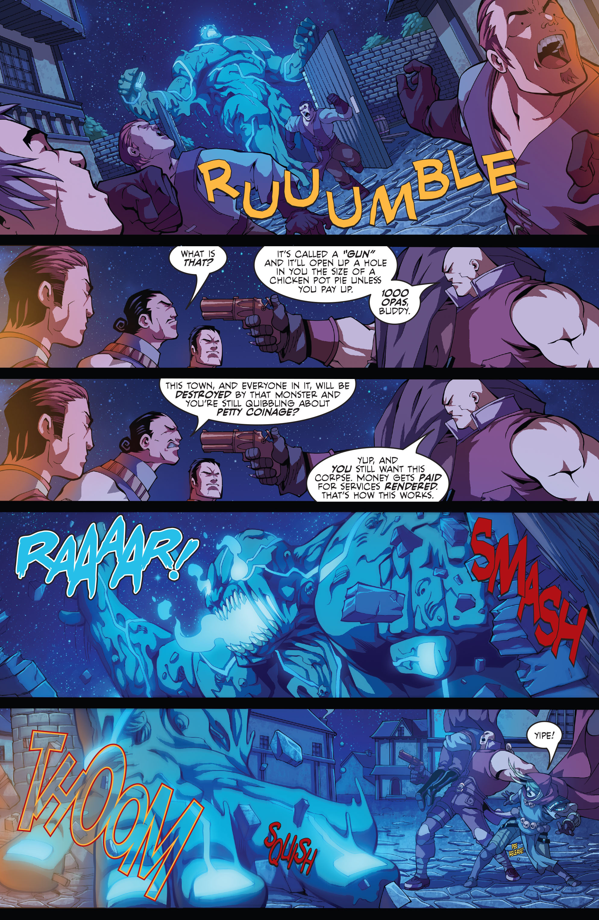 Read online Skullkickers comic -  Issue #5 - 10