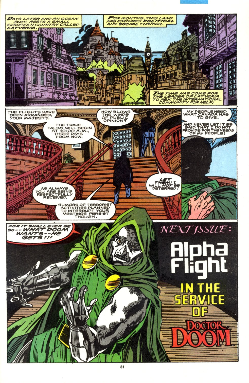 Read online Alpha Flight (1983) comic -  Issue #90 - 26
