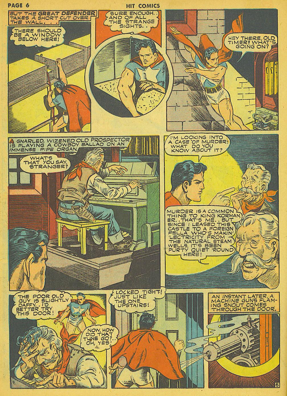 Read online Hit Comics comic -  Issue #21 - 8