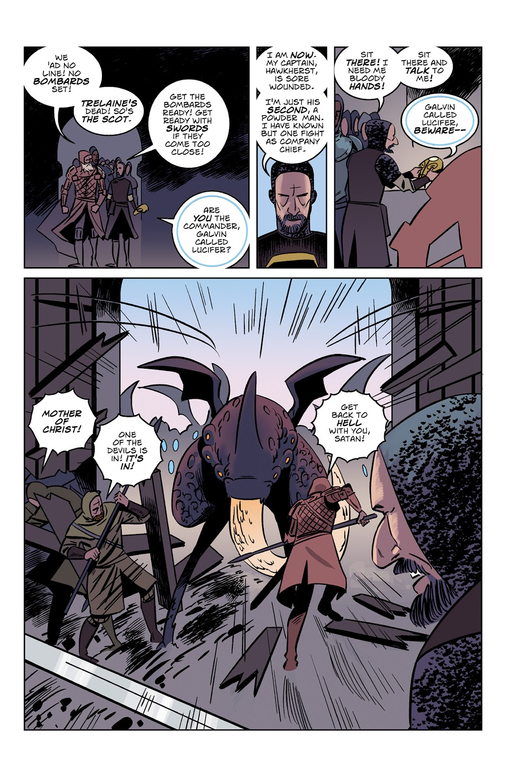 Read online Dark Ages comic -  Issue #3 - 11