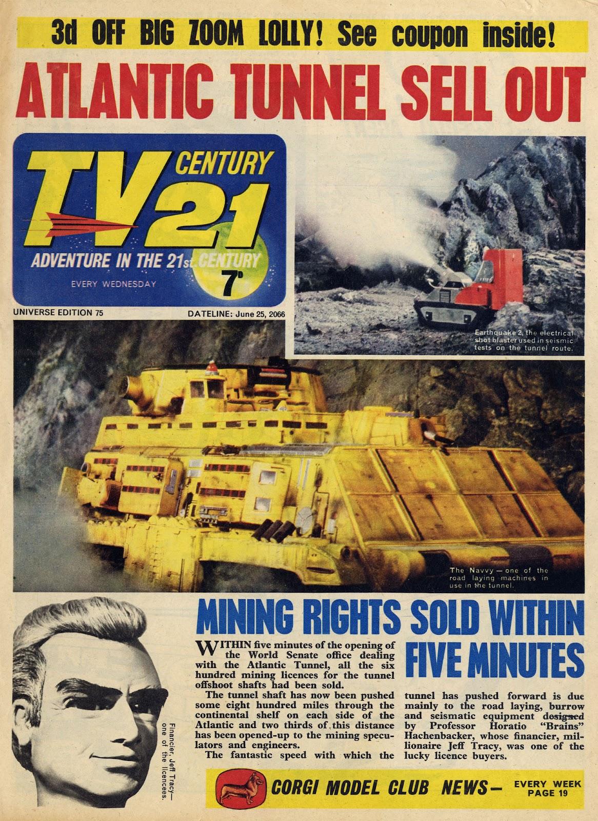 TV Century 21 (TV 21) 75 Page 1