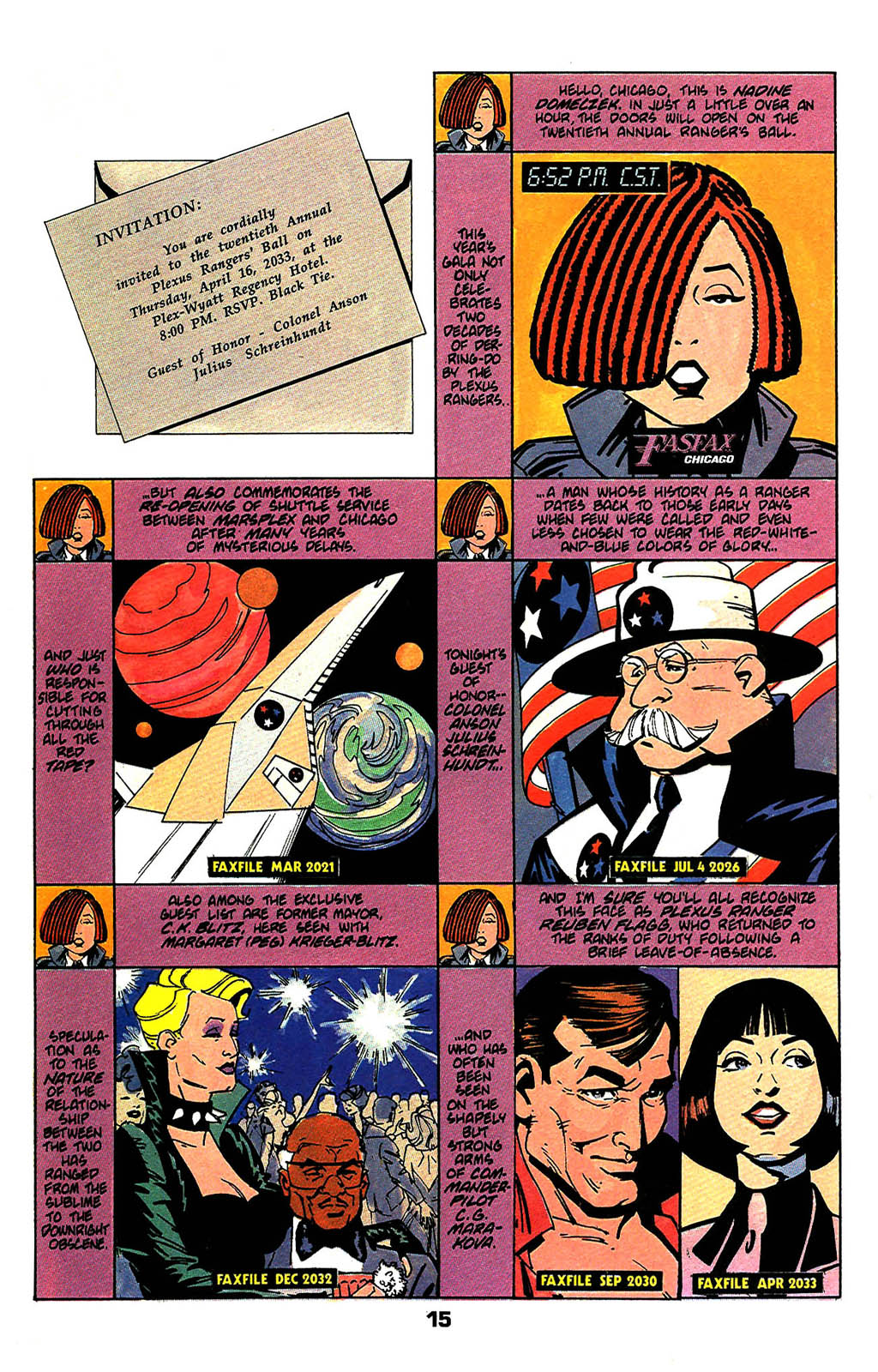 Read online American Flagg! comic -  Issue #47 - 19