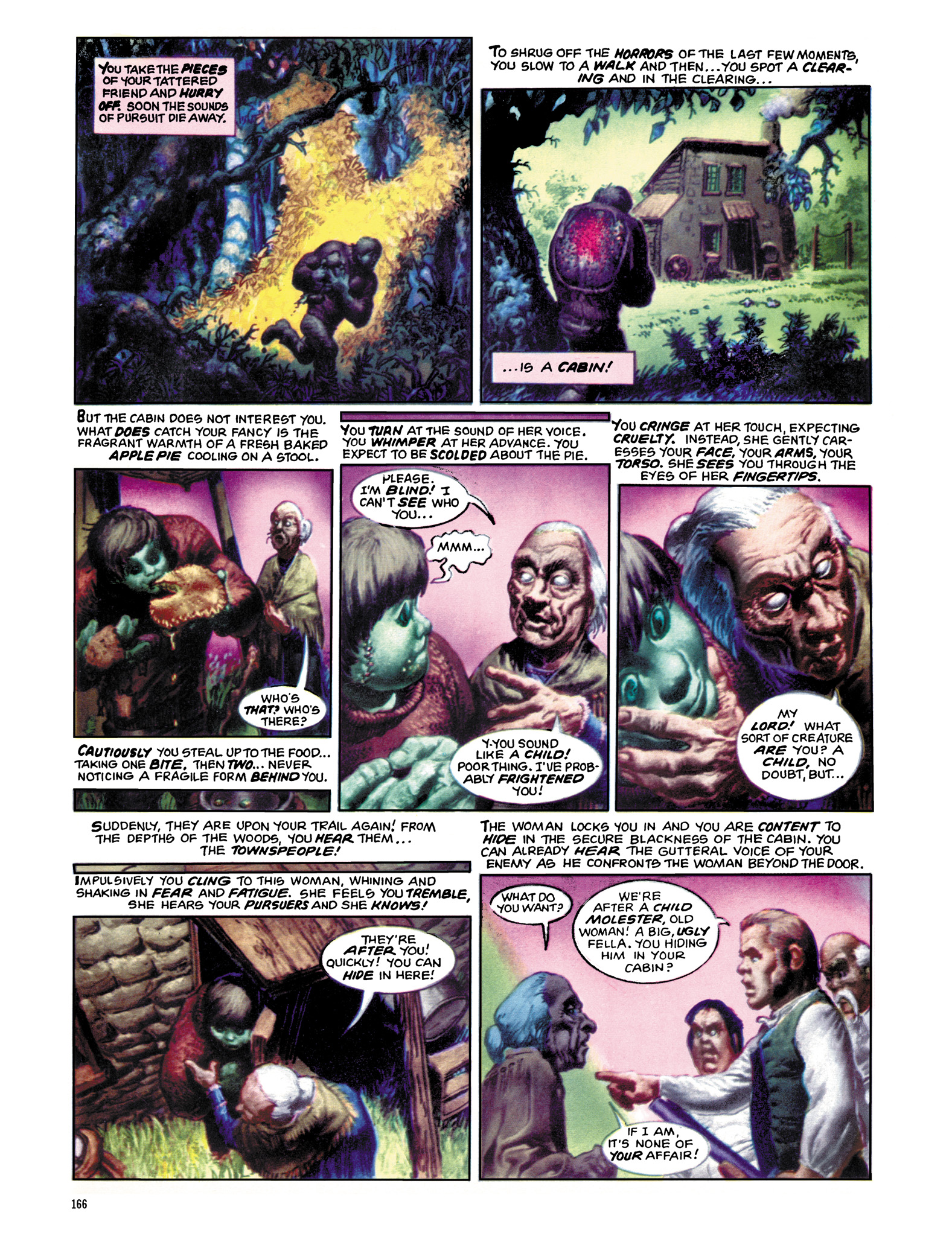 Read online Eerie Archives comic -  Issue # TPB 12 - 167