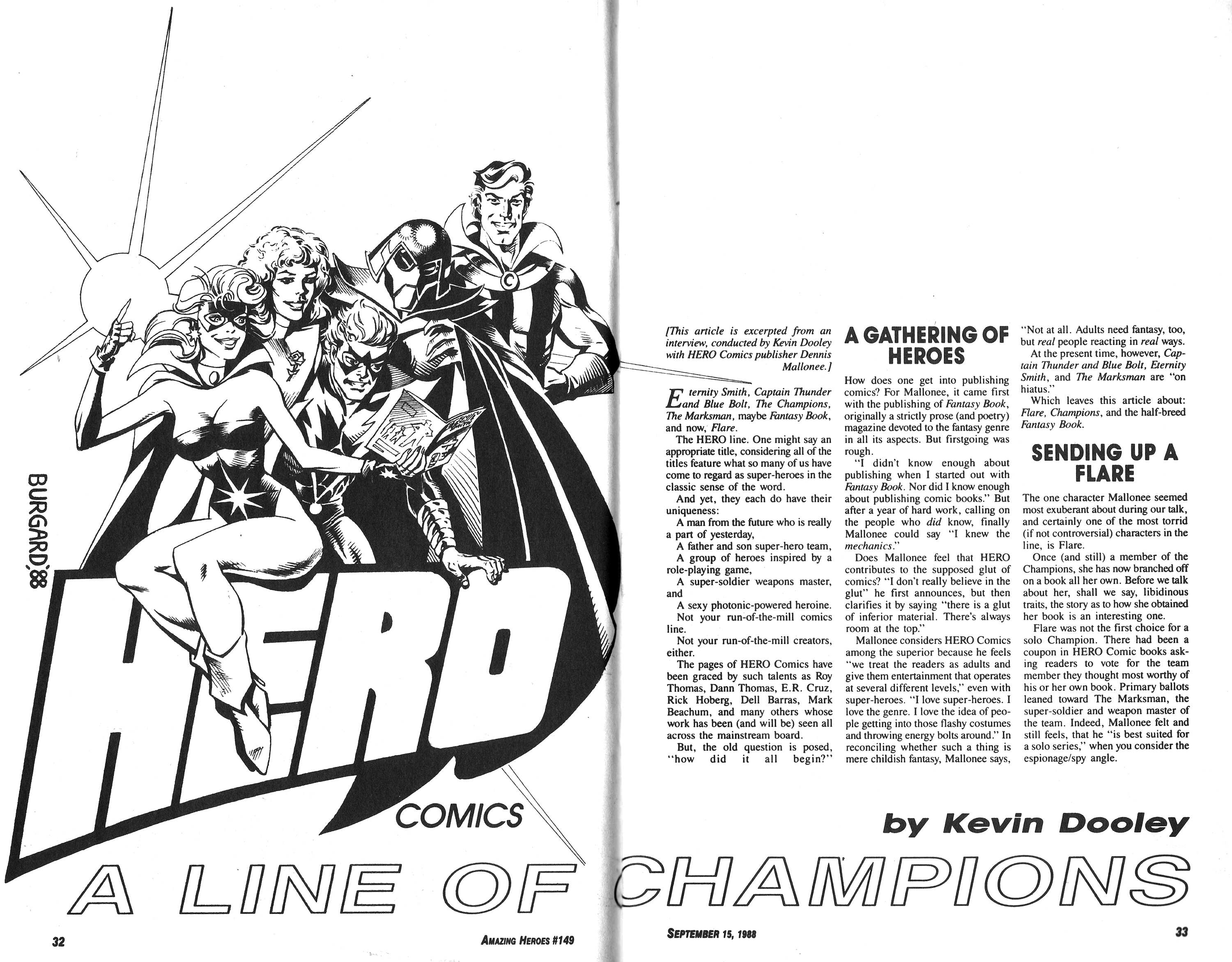 Read online Amazing Heroes comic -  Issue #149 - 17