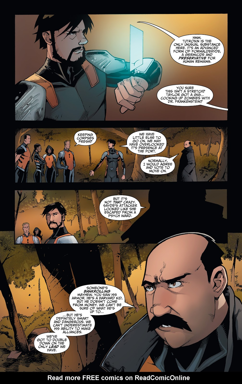 Read online Incidentals comic -  Issue #17 - 8