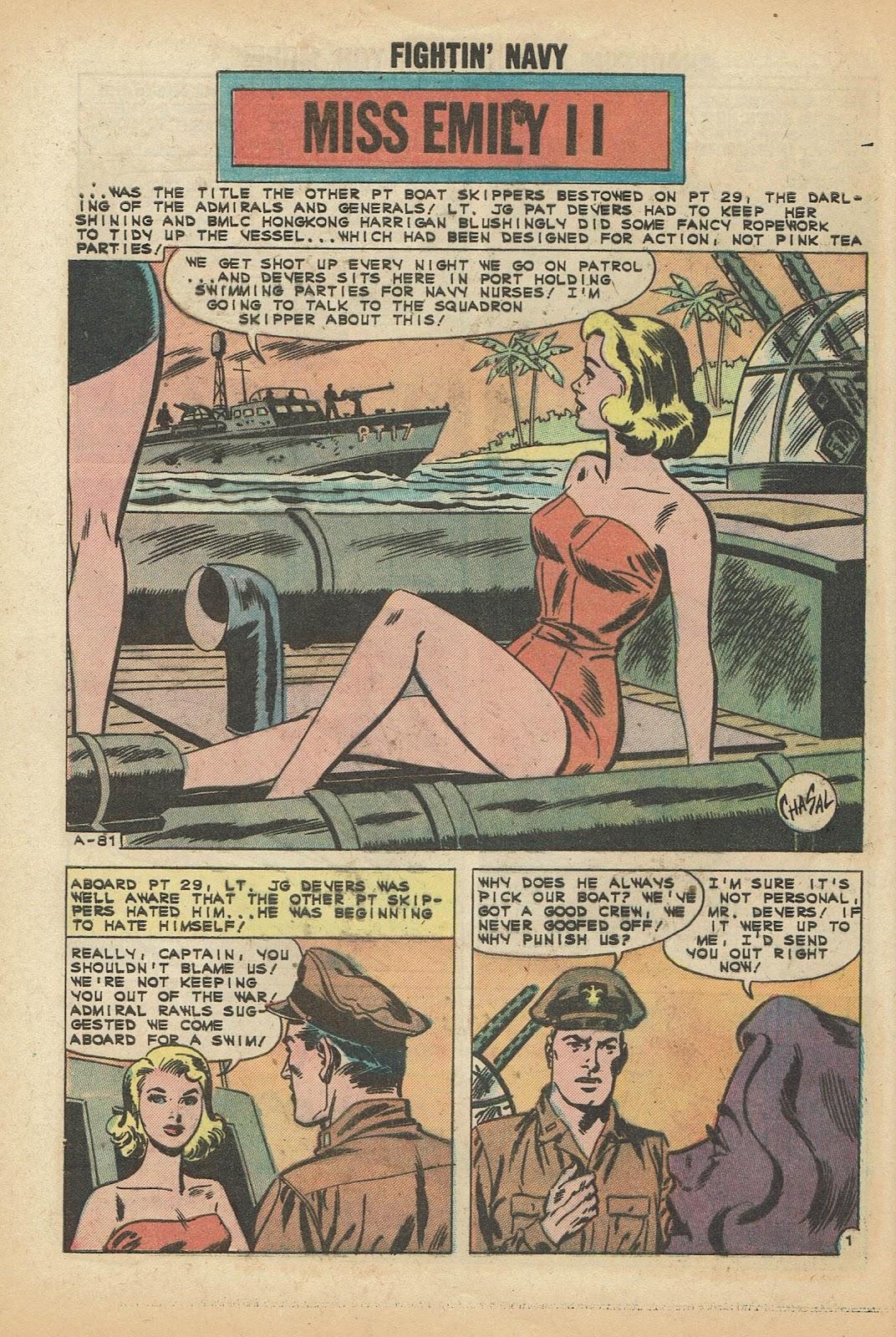Read online Fightin' Navy comic -  Issue #97 - 28
