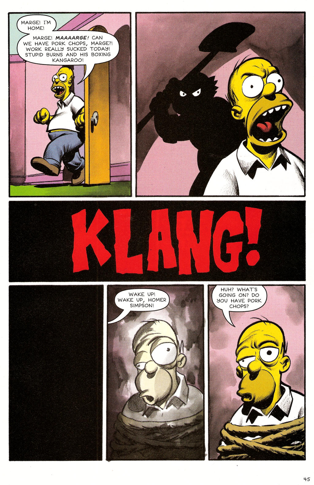 Read online Treehouse of Horror comic -  Issue #12 - 46