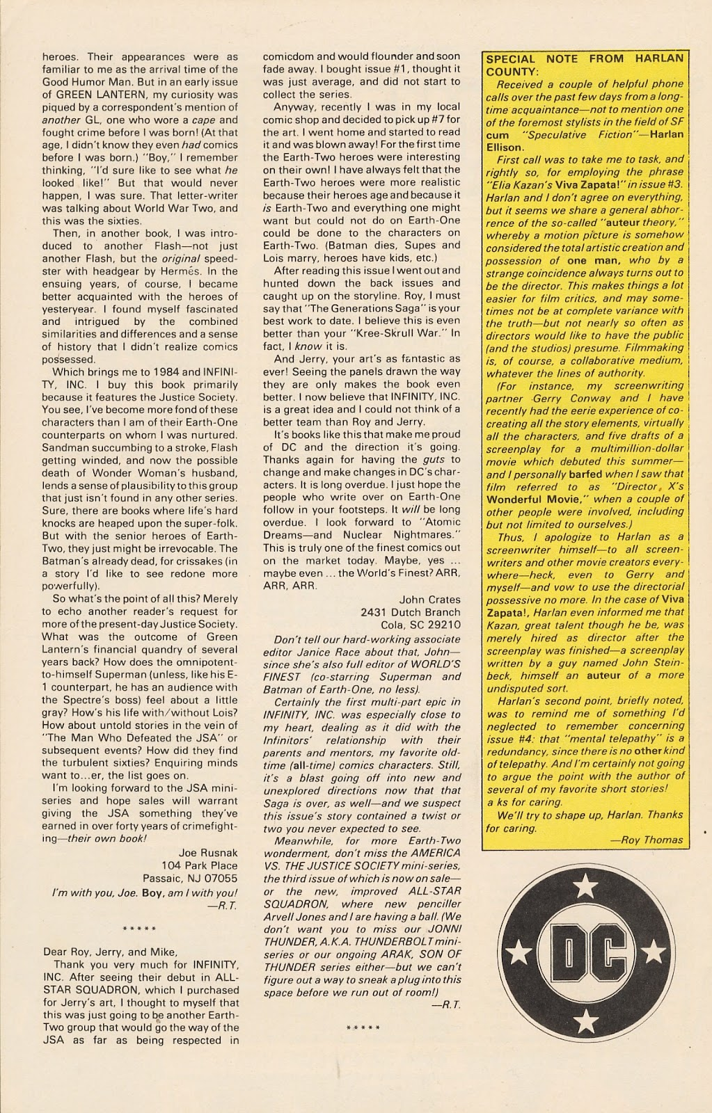 Infinity Inc. (1984) issue 12 - Page 33
