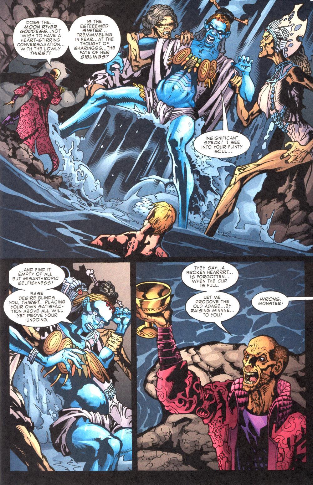 Read online Aquaman (2003) comic -  Issue #10 - 10