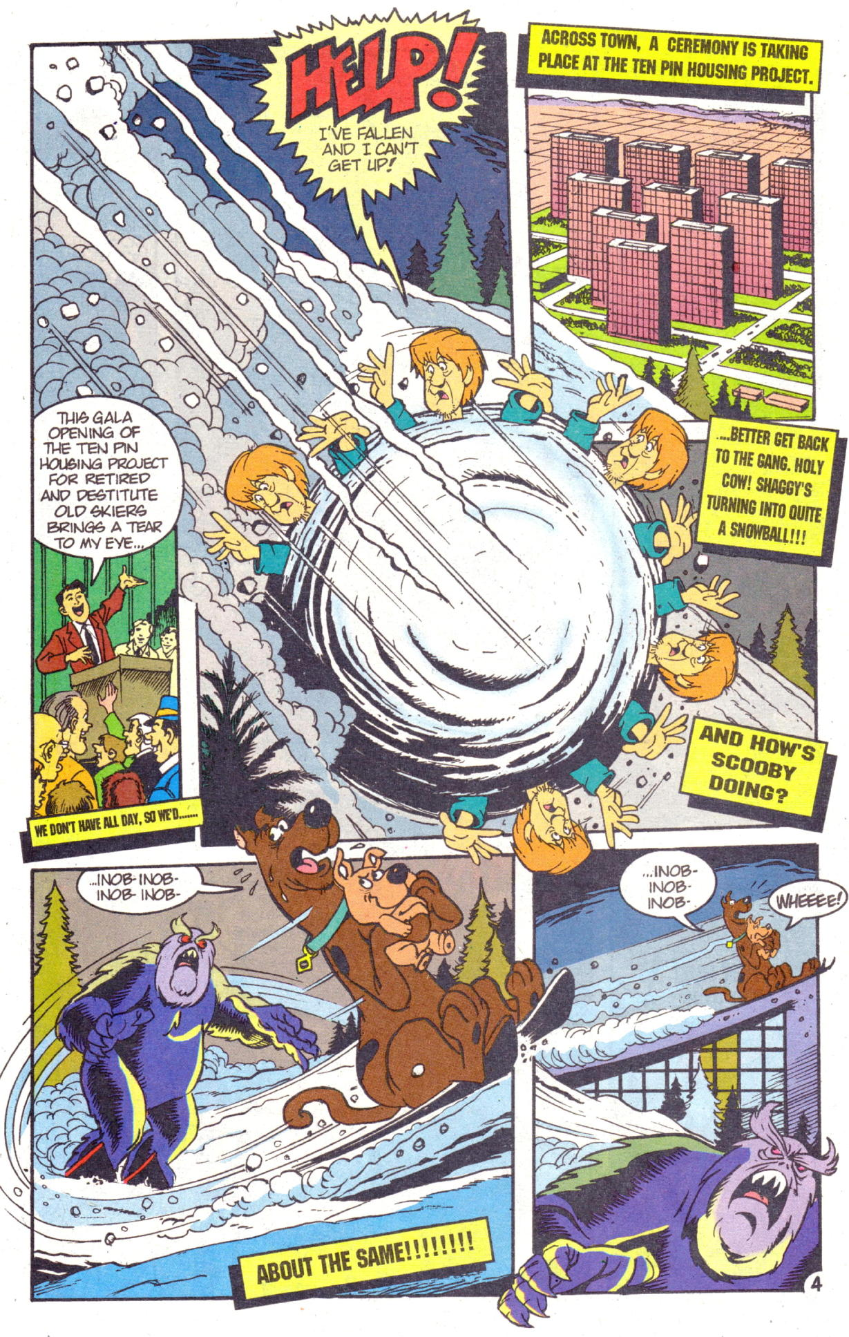 Read online Scooby-Doo (1995) comic -  Issue #2 - 18