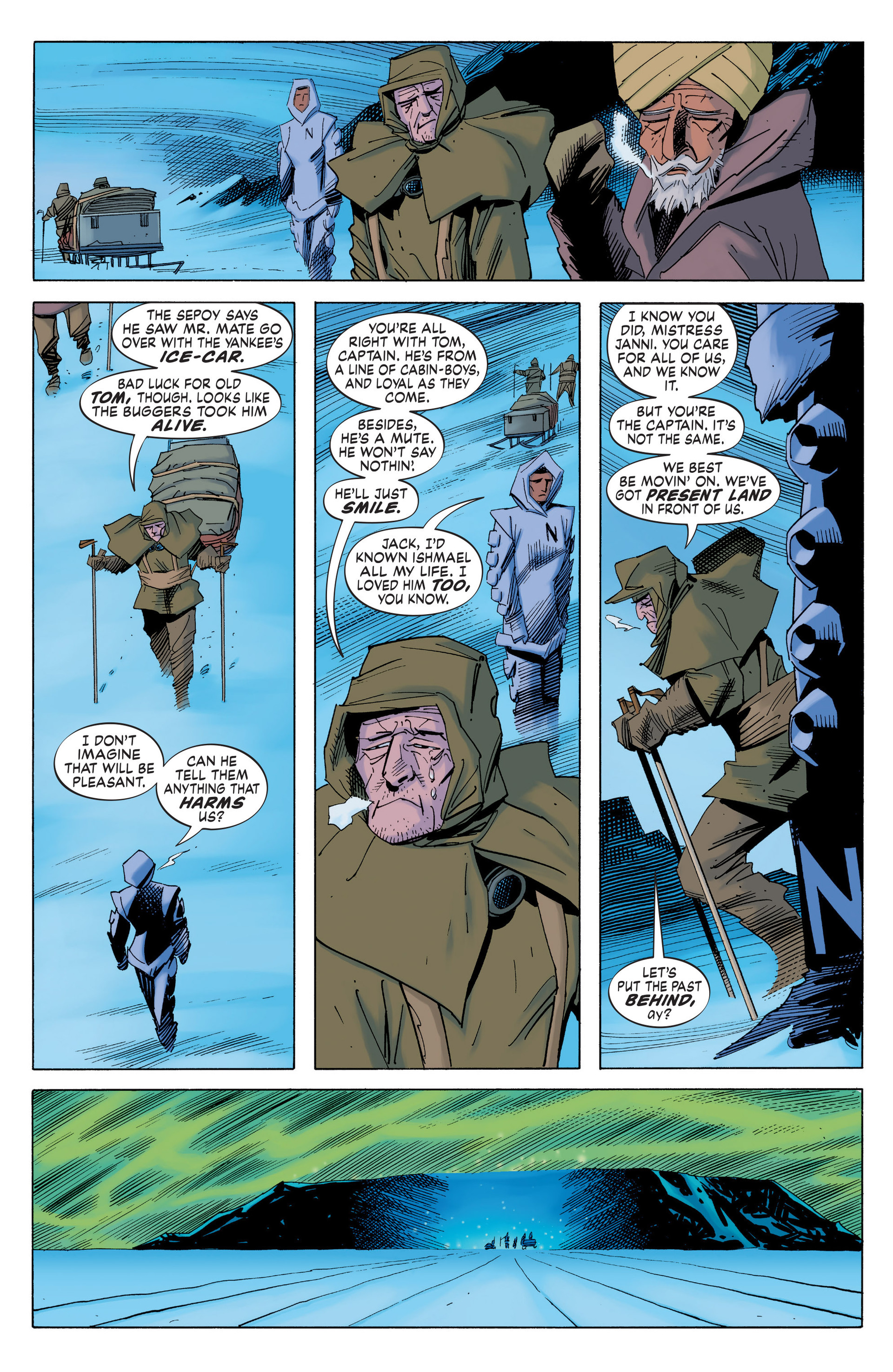 Read online Nemo: Heart of Ice comic -  Issue # Full - 28
