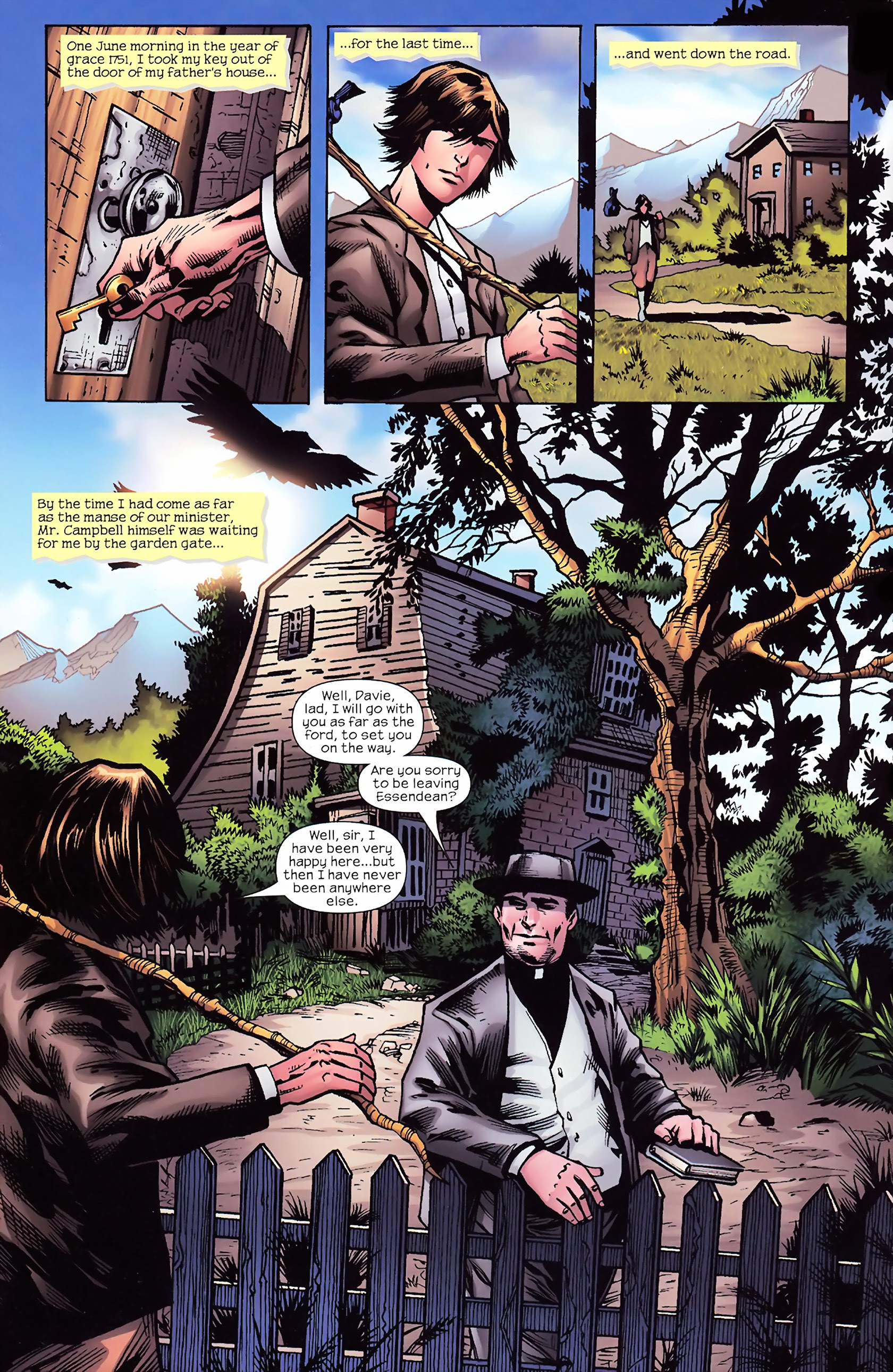Marvel Illustrated: Kidnapped! 1 Page 3