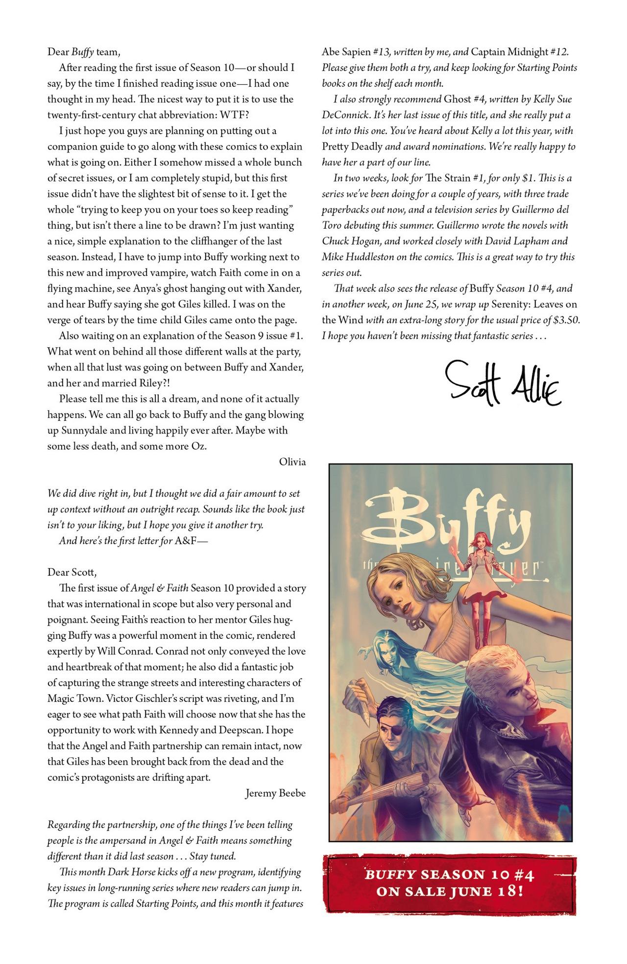 Read online Angel & Faith Season 10 comic -  Issue #3 - 26