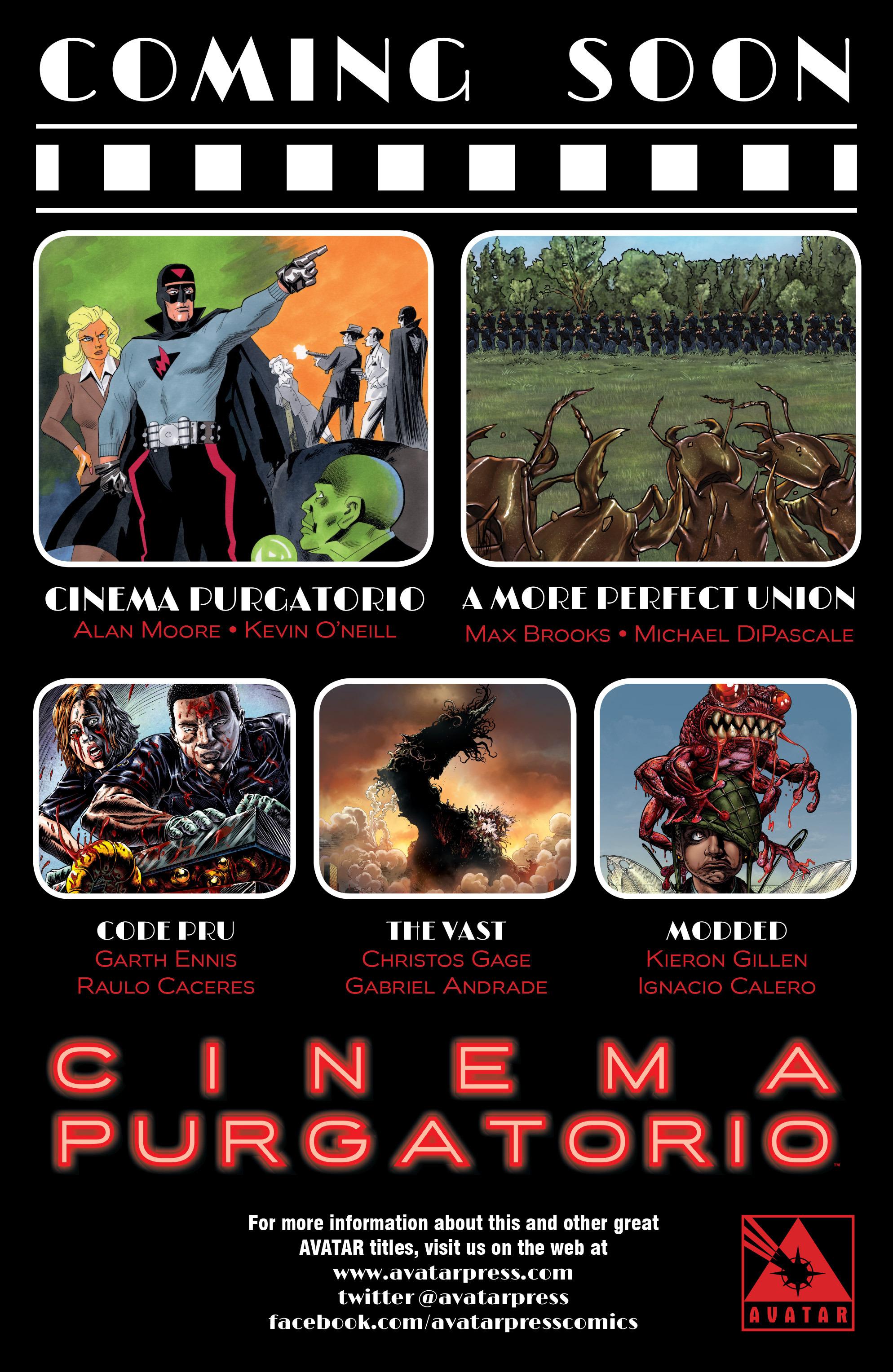Read online Alan Moore's Cinema Purgatorio comic -  Issue #2 - 52