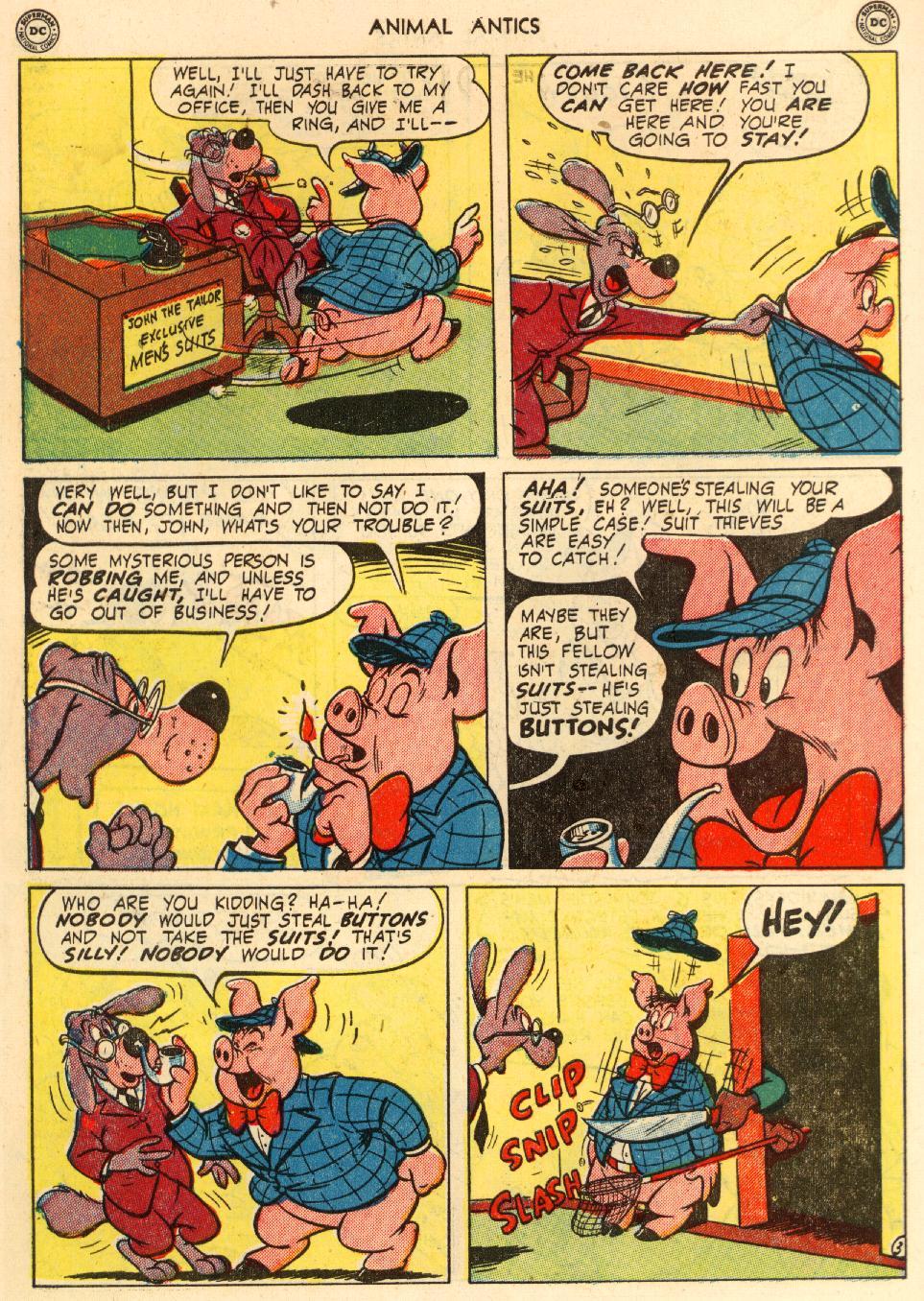 Read online Animal Antics comic -  Issue #29 - 44