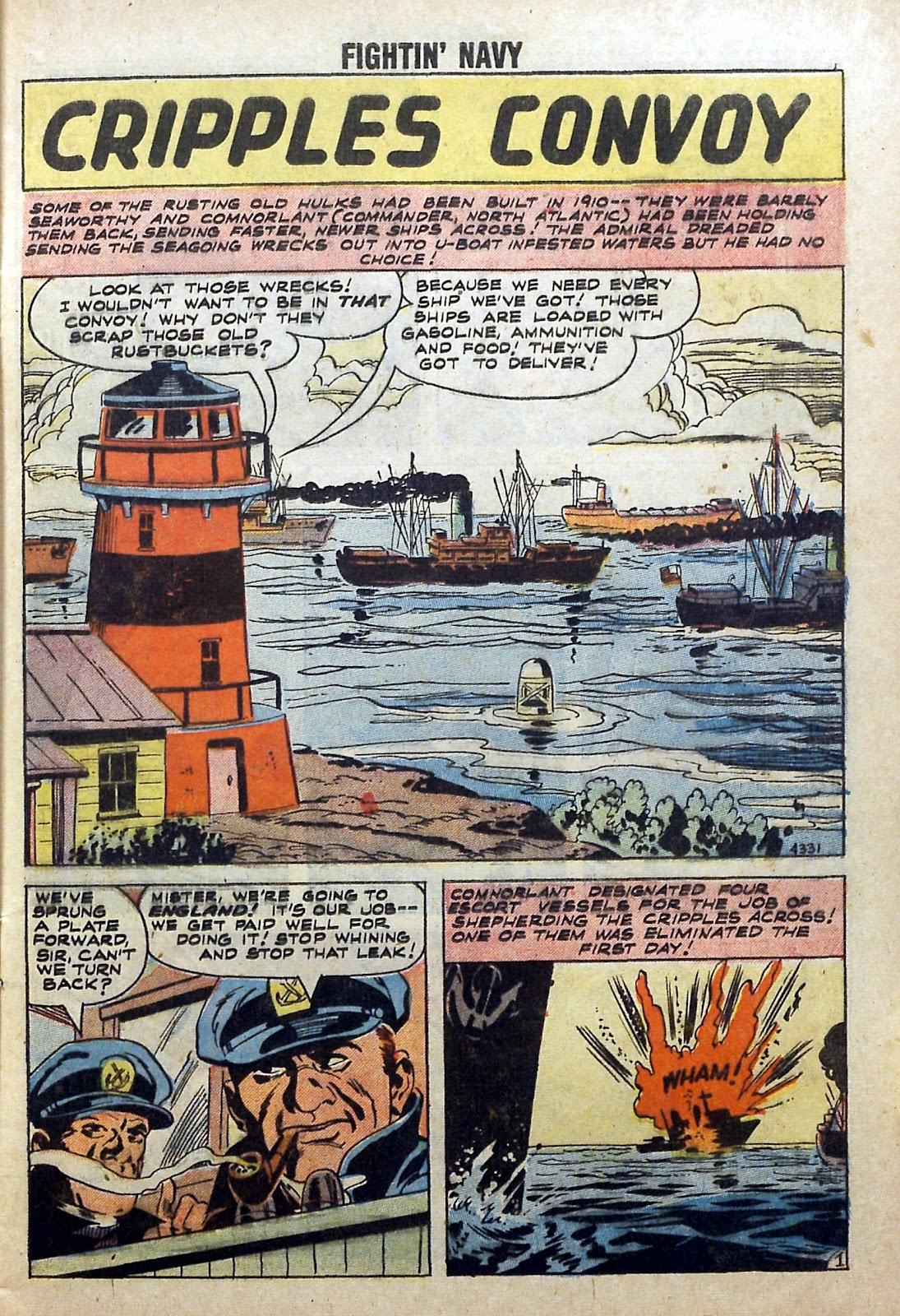 Read online Fightin' Navy comic -  Issue #84 - 9